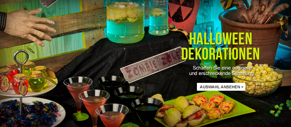 Halloween Dekorationen