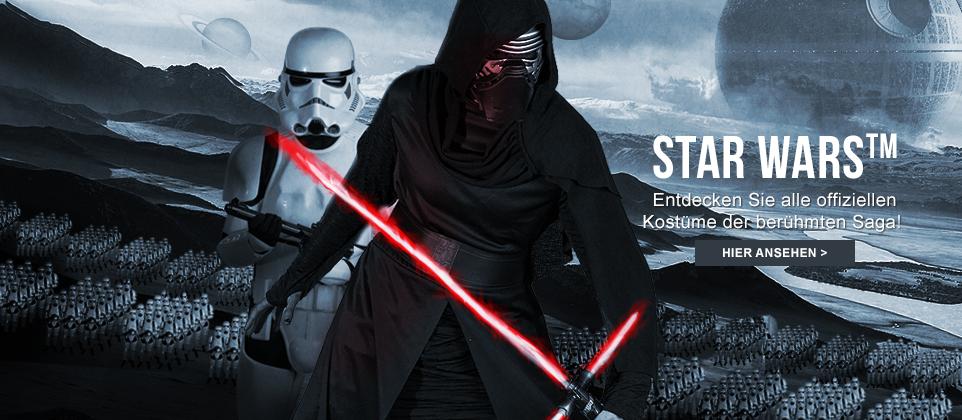 Star Wars Faschingskostüme