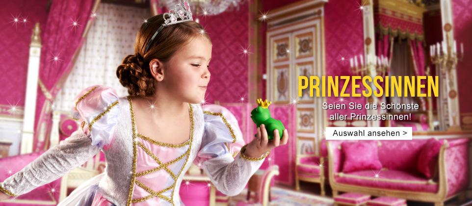 Prinzessinnen Faschingskostüme