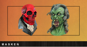 Horror Masken für Halloween Kostüme