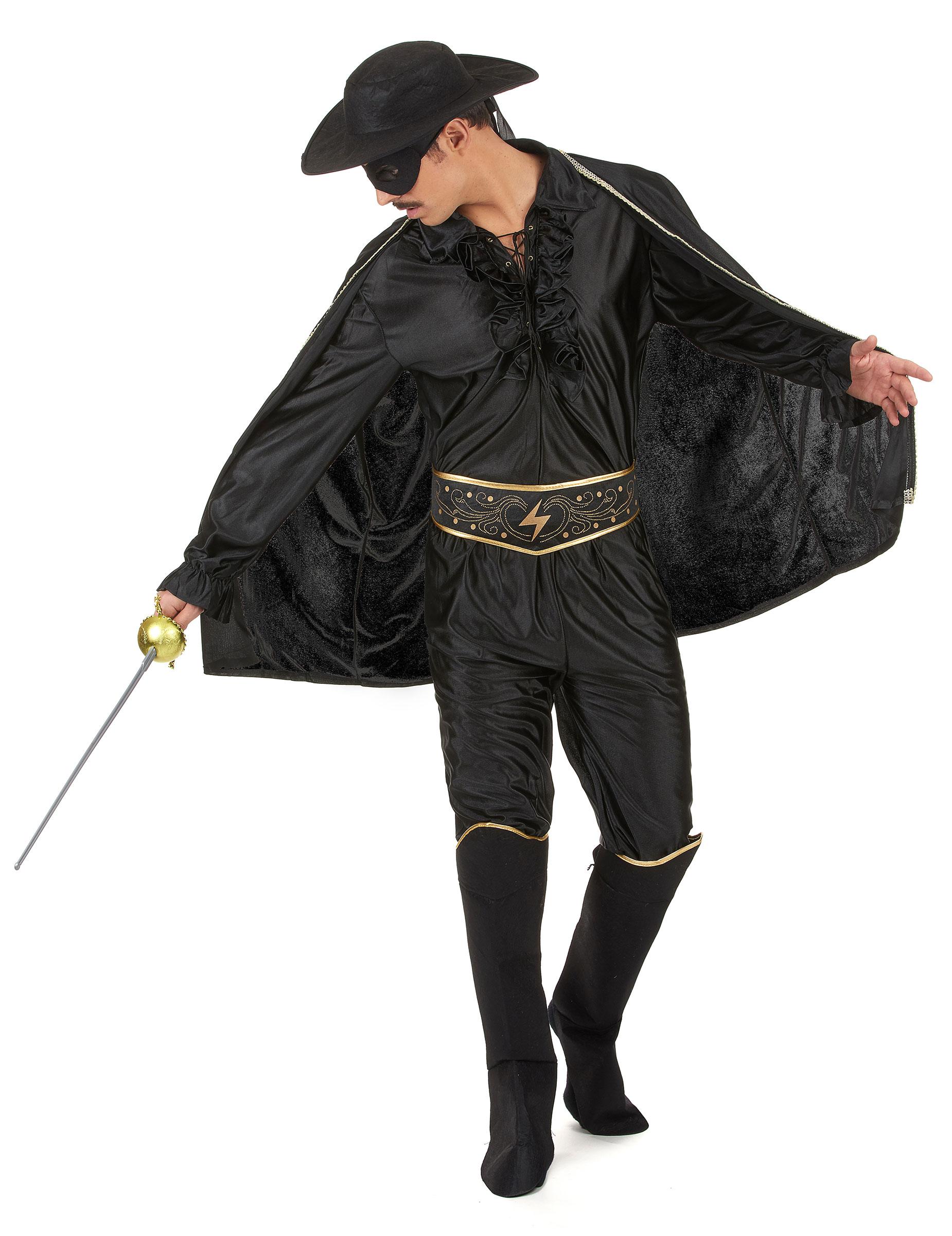 Racher Kostum Fur Herren Schwarz Kostume Fur Erwachsene Und