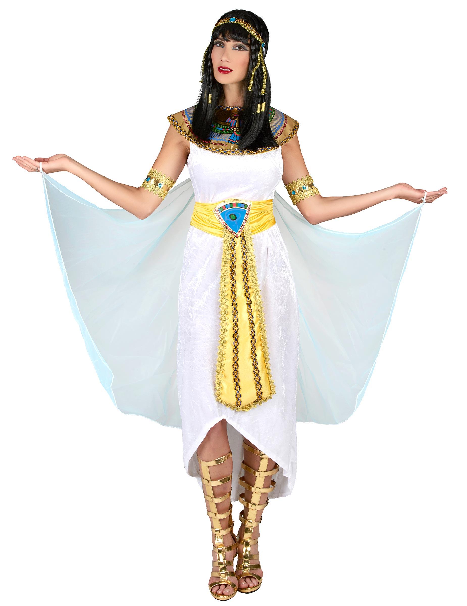 Königin von Ägypten-Kostüm für Damen bunt - M 4601