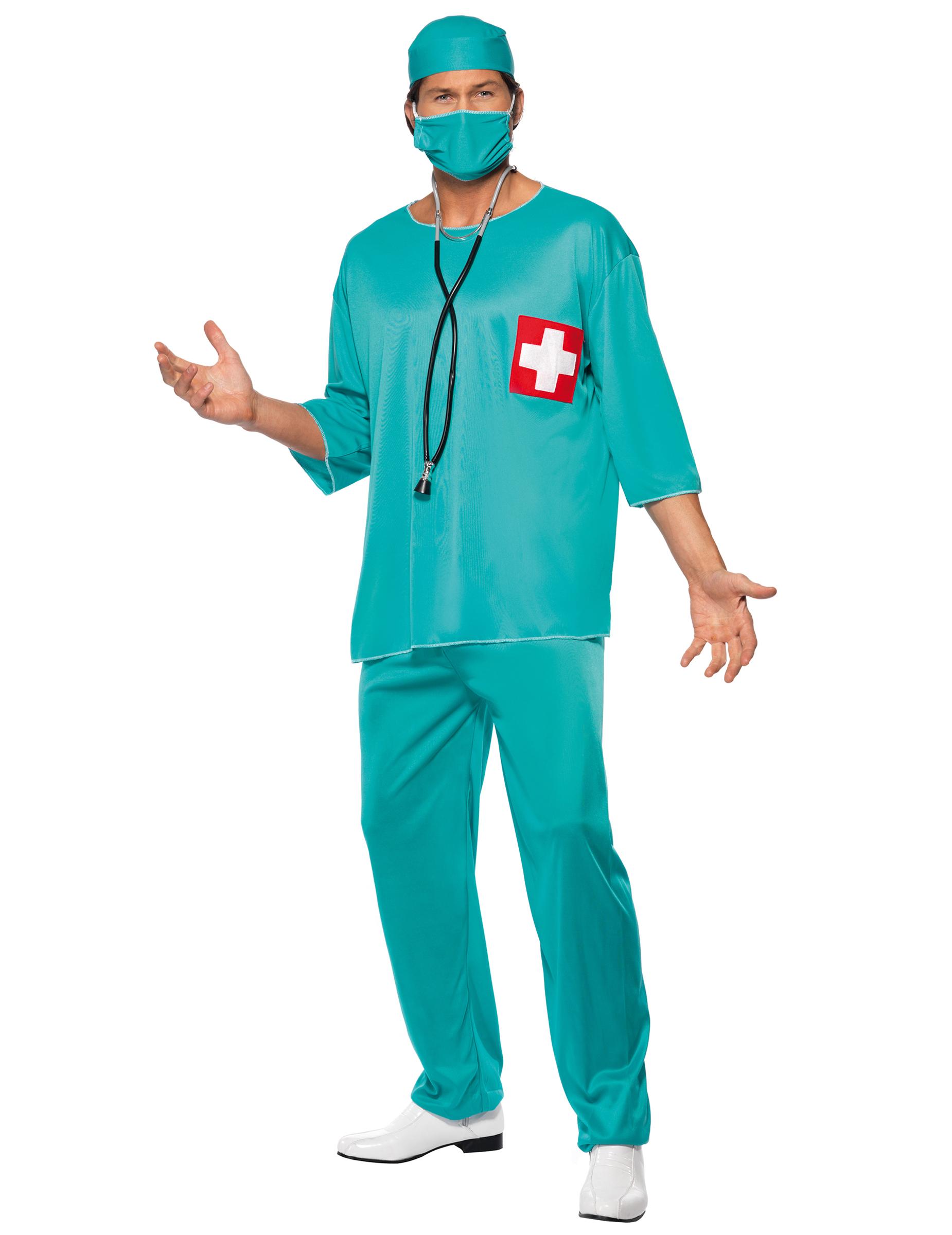 Chirurgen-Kostüm für Herren - L 10516