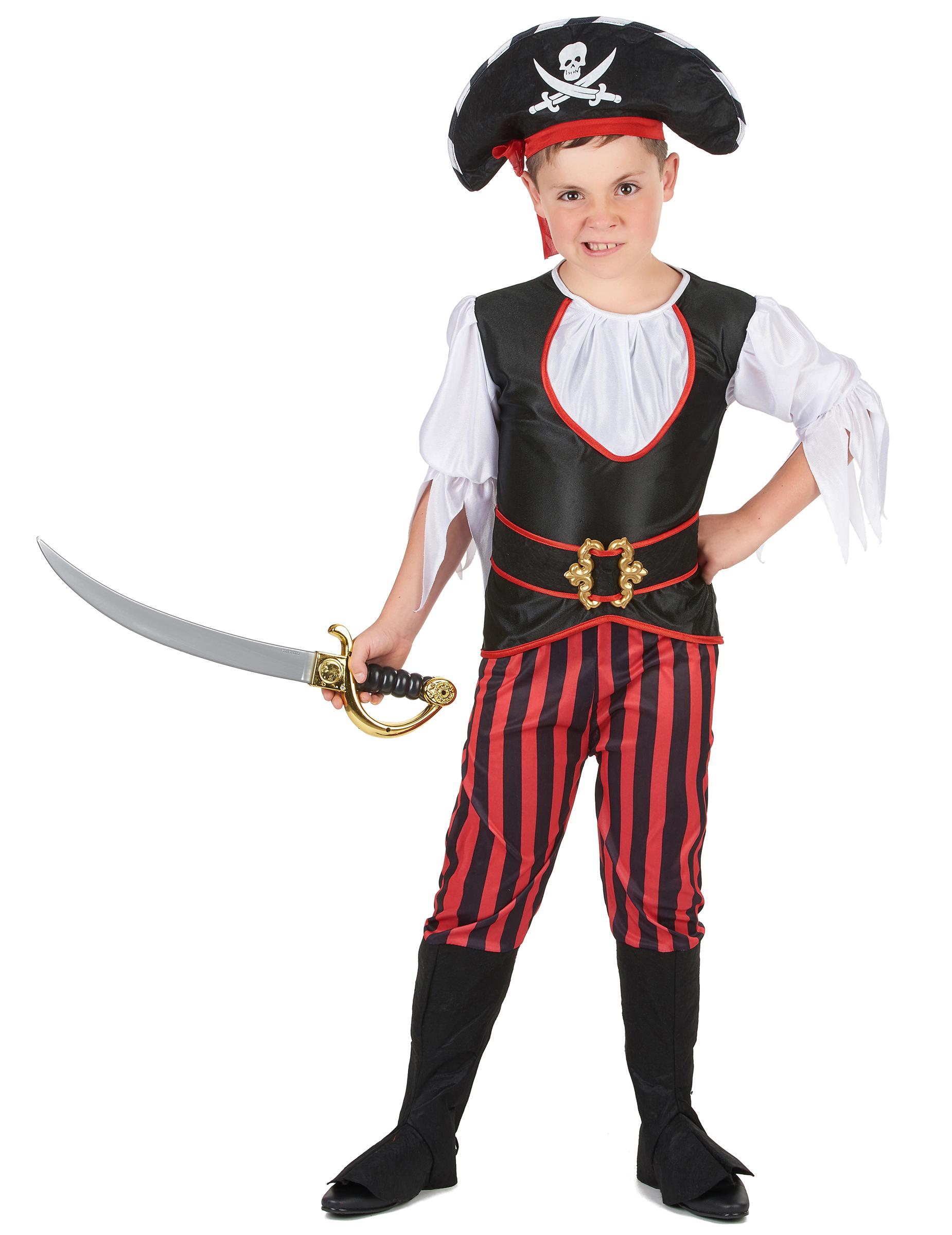 #Piraten-Faschingskostüm für Jungen bunt#