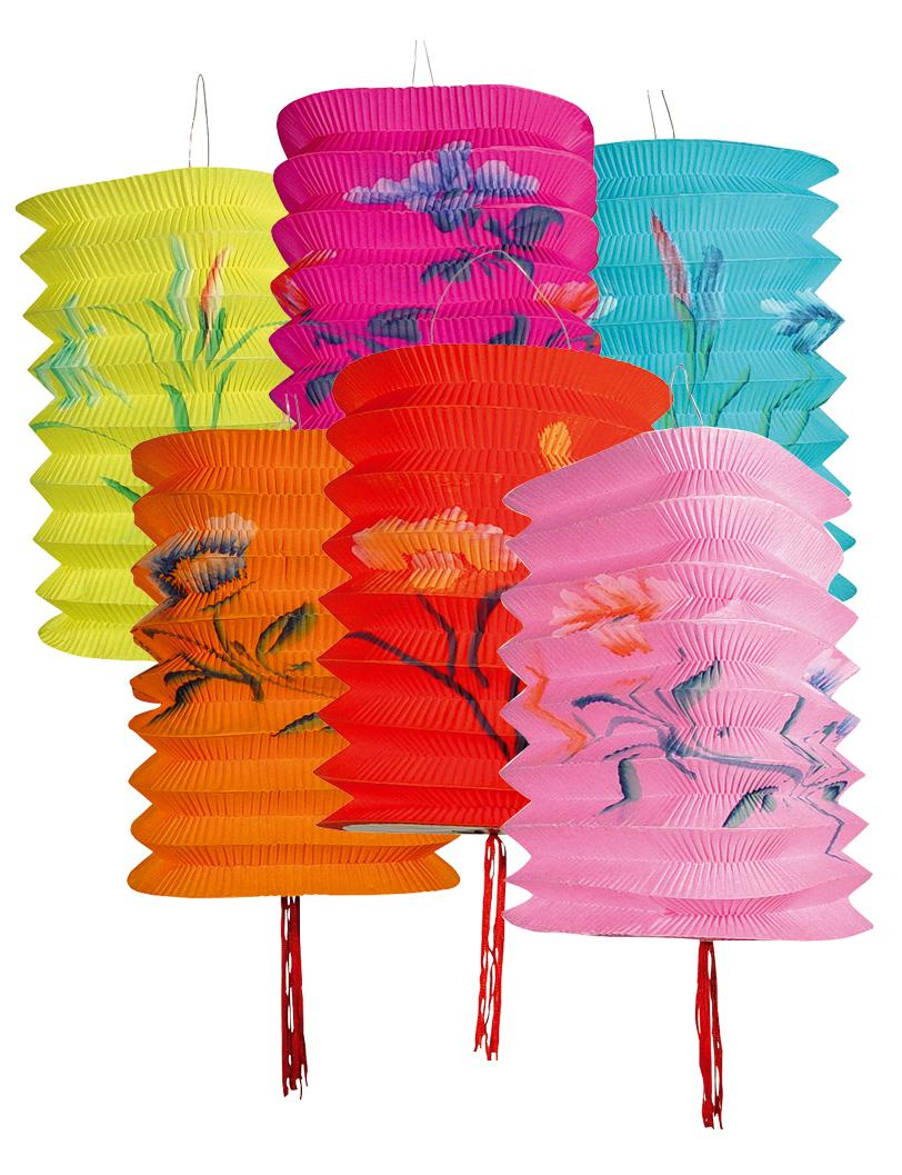chinesische lampions 12er pack partydeko und g nstige. Black Bedroom Furniture Sets. Home Design Ideas