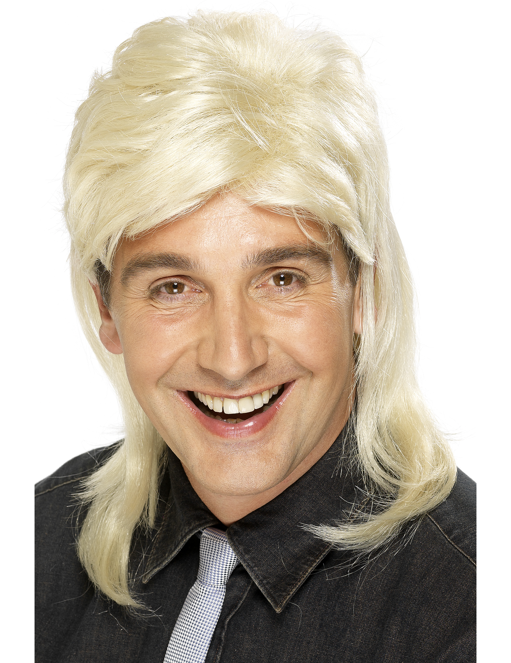 Blonde Rock-Star-Perücke für Herren 9547
