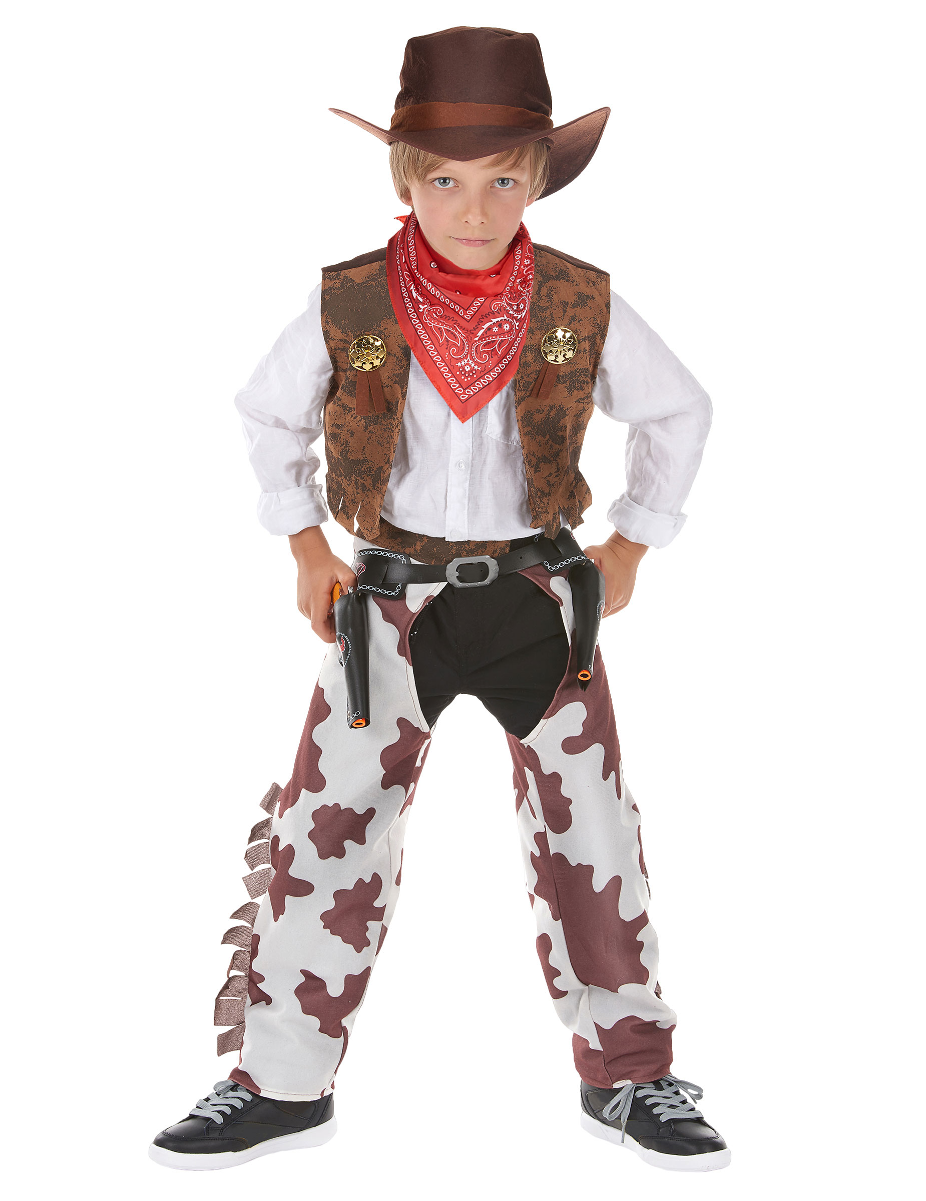 Cowboy Kostum Deluxe Fur Jungen Kostume Fur Kinder Und Gunstige