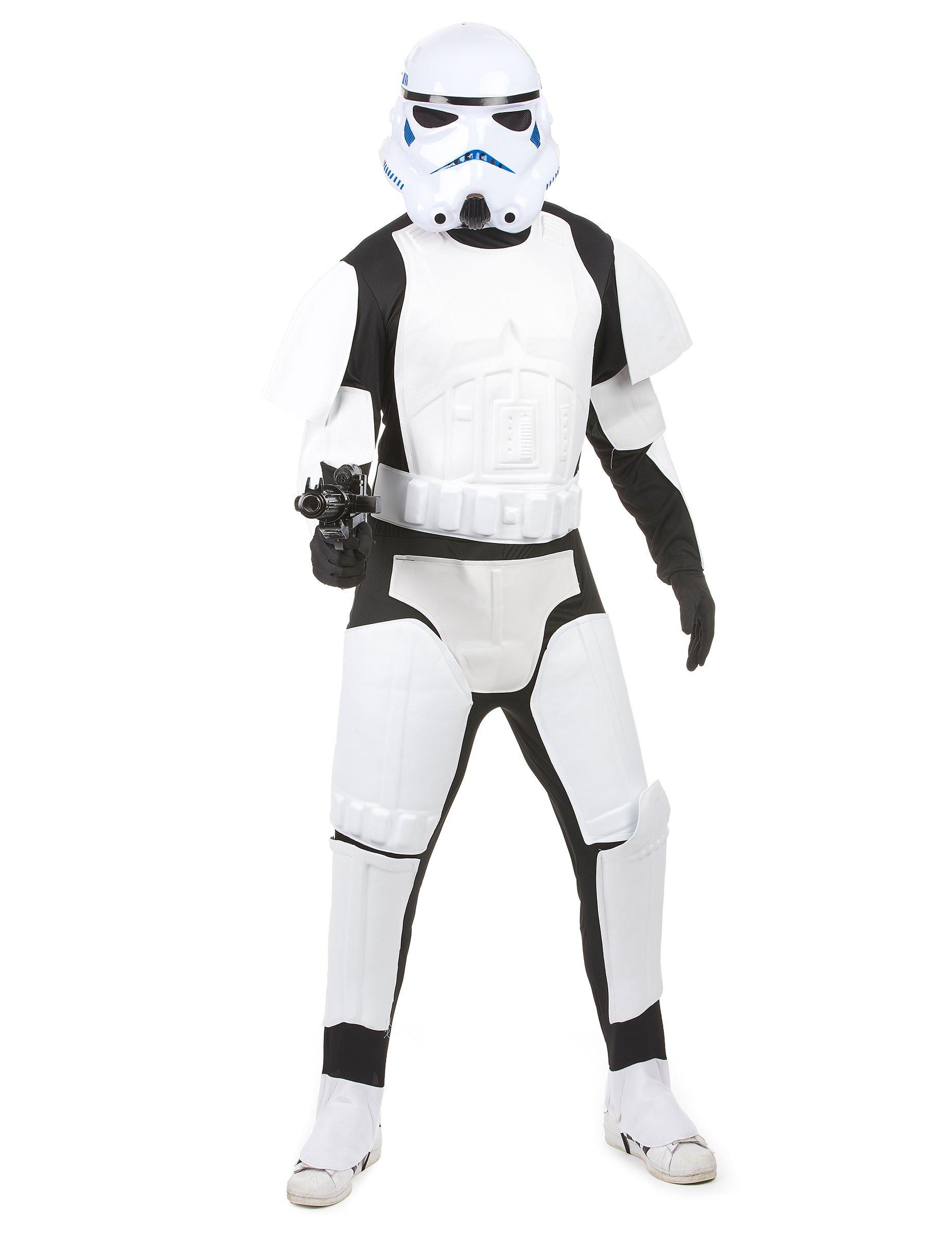 offizielles stormtrooper kost m aus star wars f r erwachsene kost me f r erwachsene und. Black Bedroom Furniture Sets. Home Design Ideas