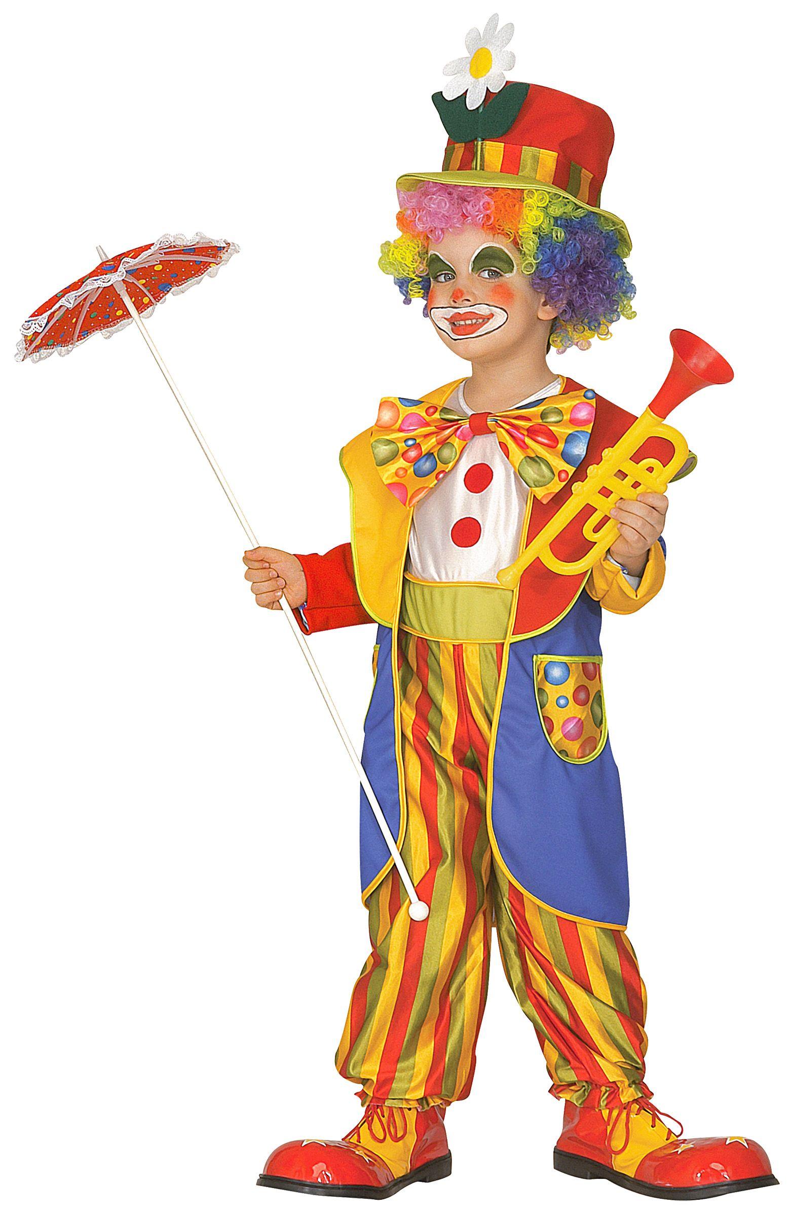 detaillierte Bilder beste Seite echt kaufen Verrücktes Clownkostüm für Jungen bunt