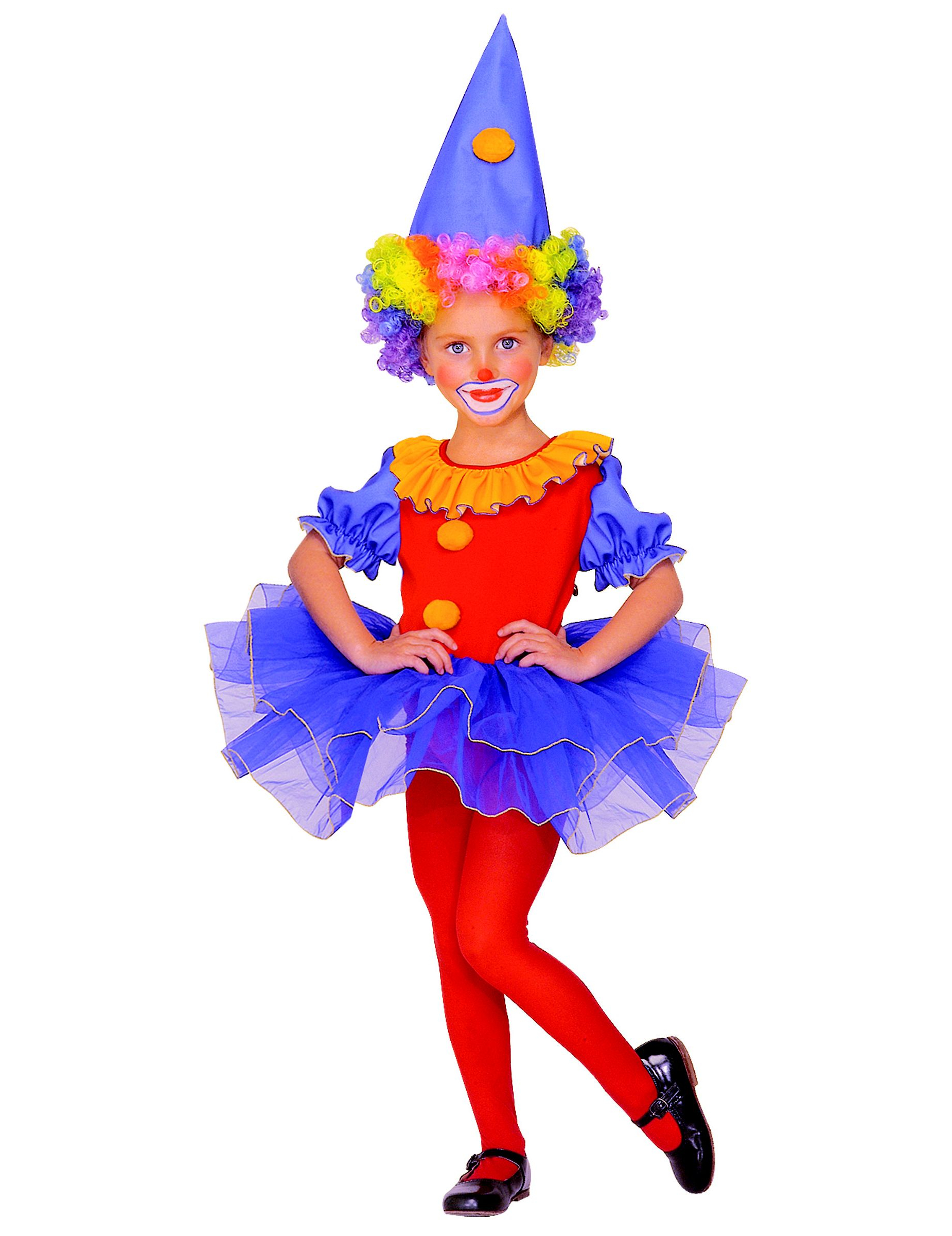Clowns Kostum Fur Madchen Kostume Fur Kinder Und Gunstige
