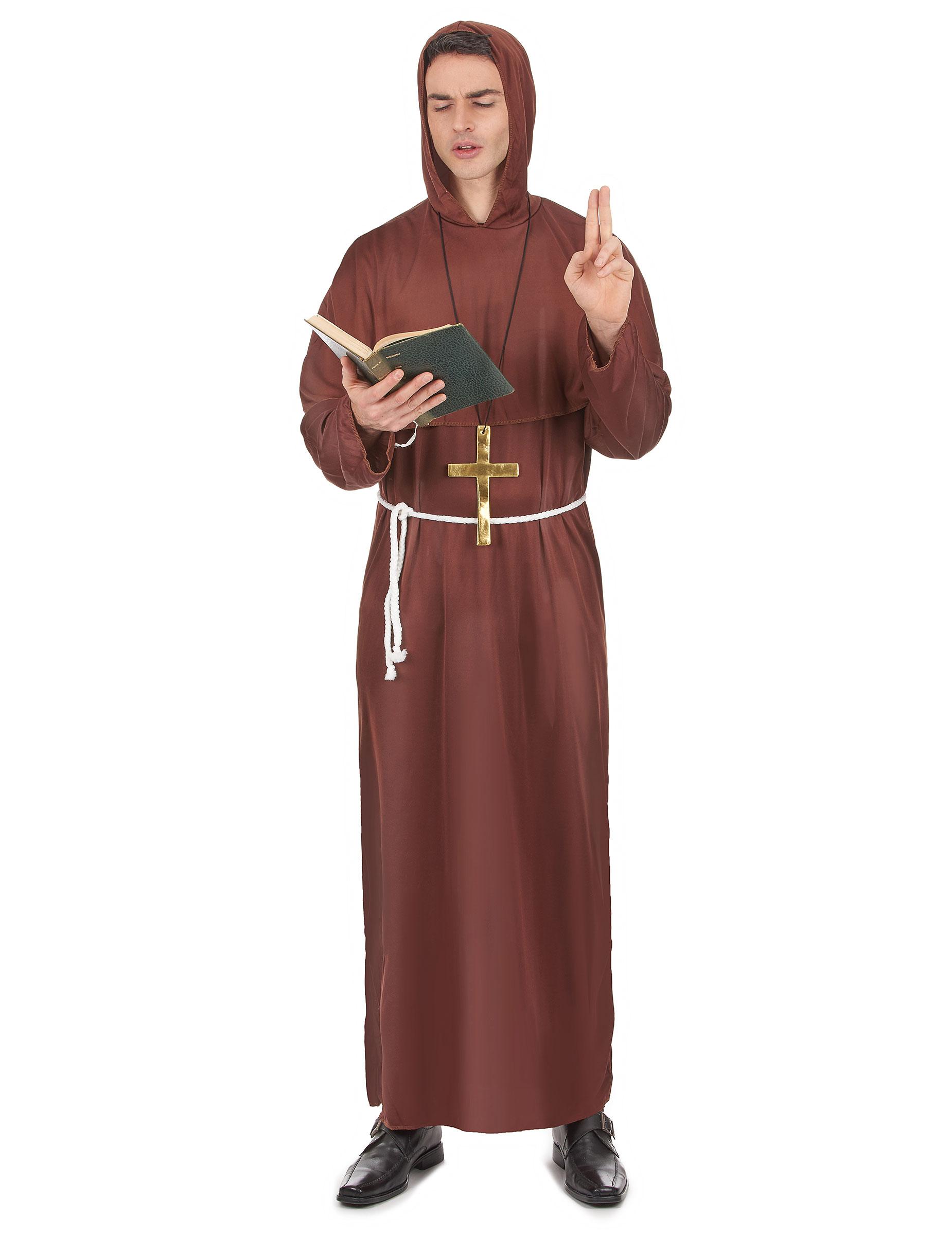 Mönchs-Kostüm für Herren 37604