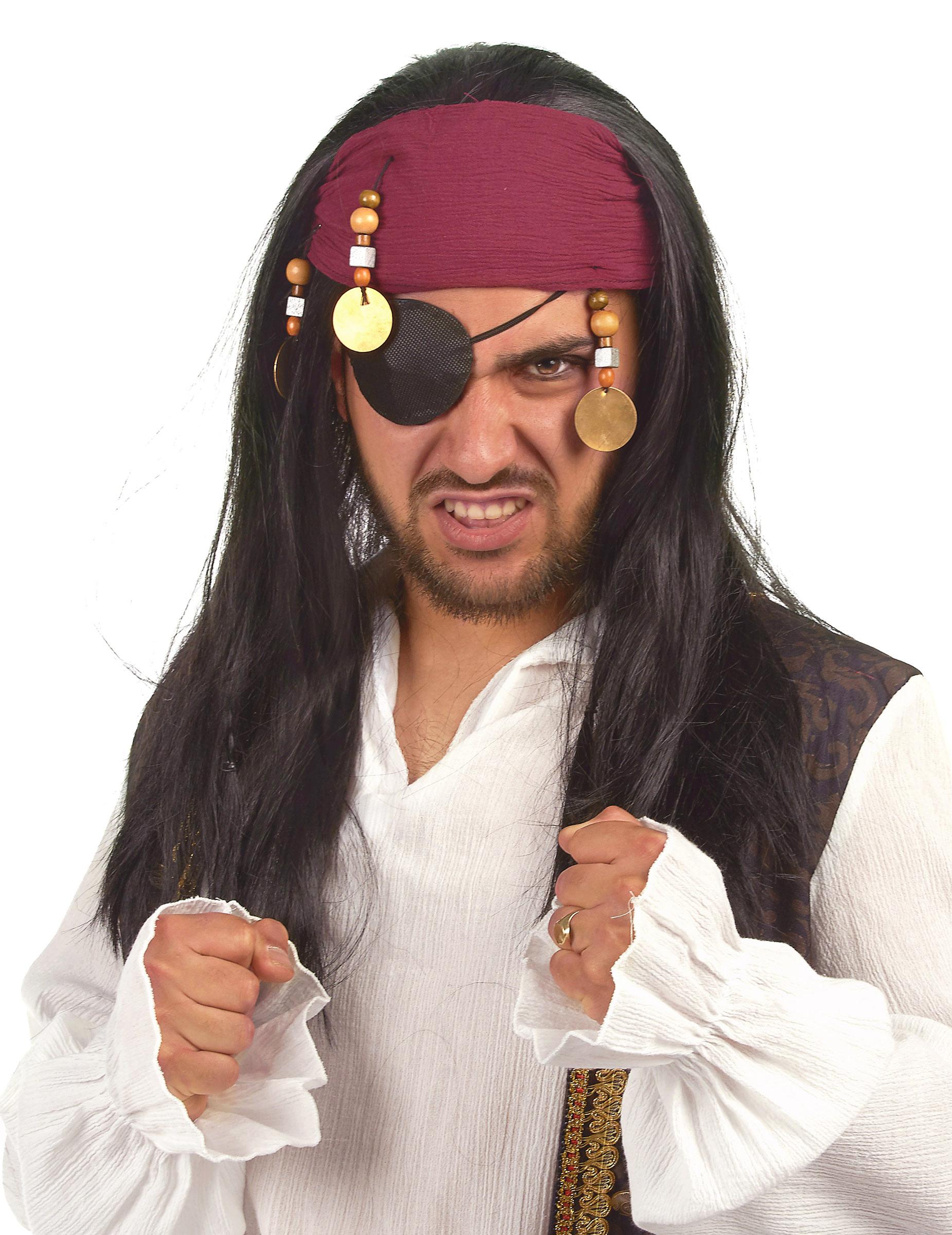 Piraten-Perücke für Erwachsene 37631