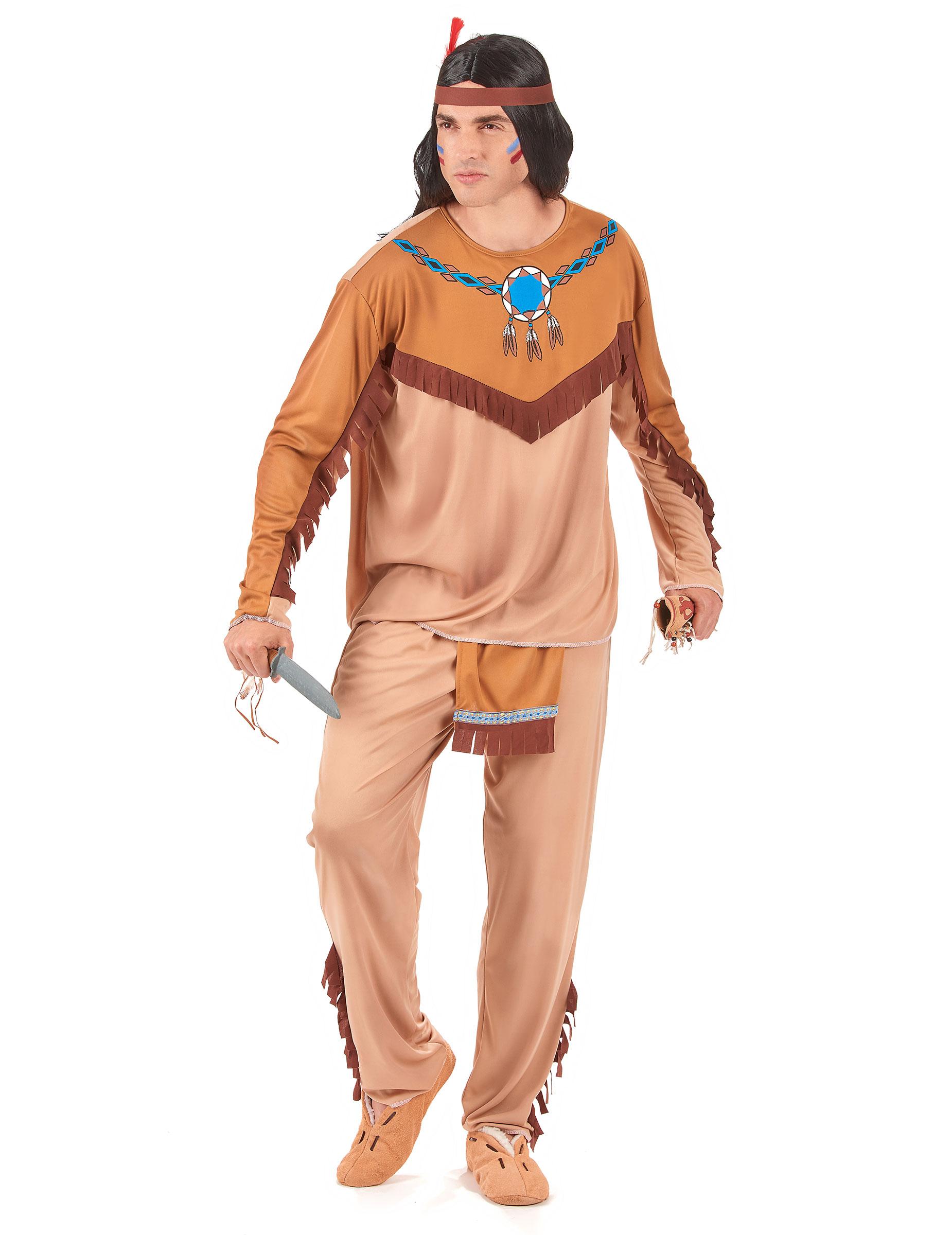 Manner Indianerkostum Fur Fasching Bunt Kostume Fur Erwachsene Und