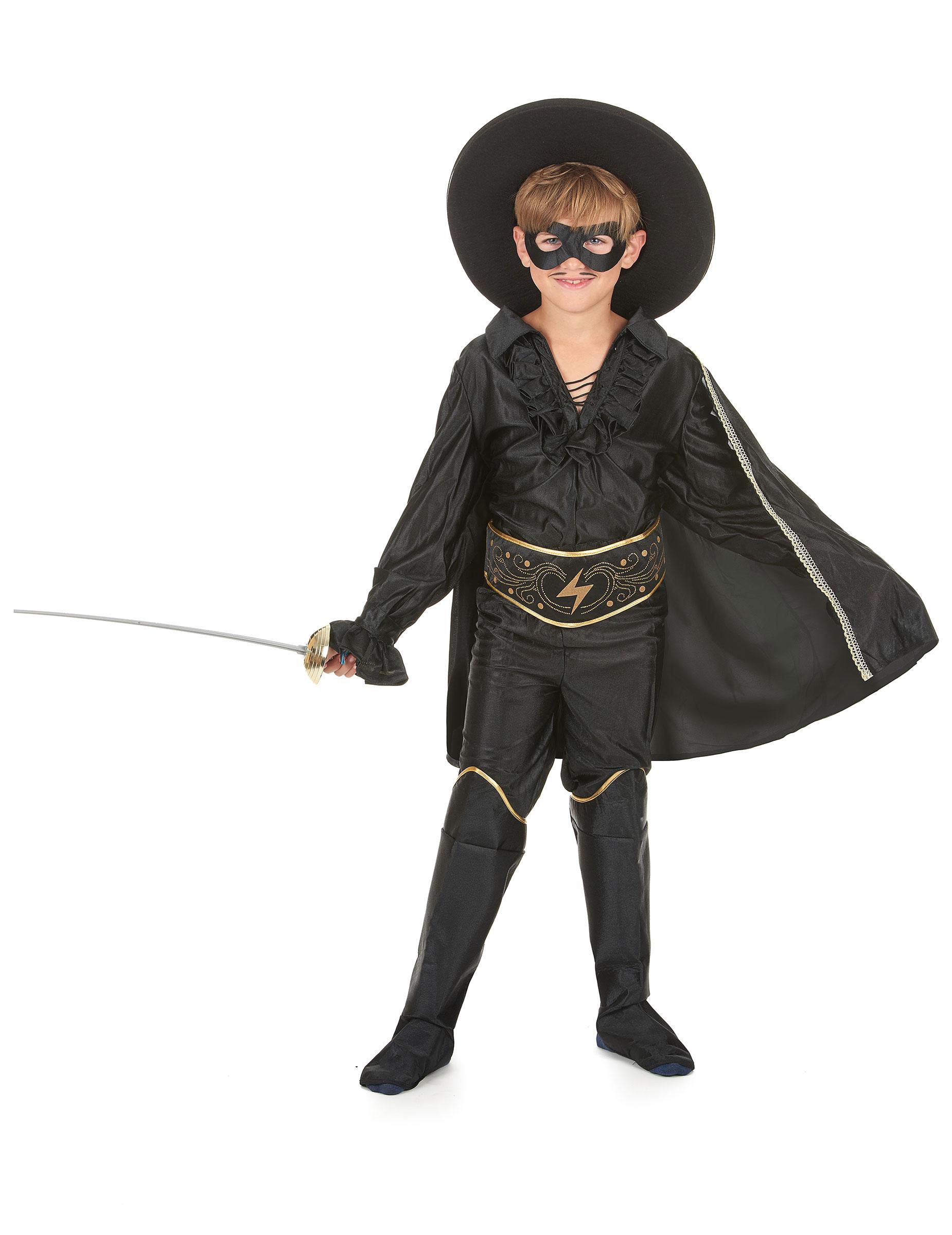Kostüm maskierter Rächer für Jungen - 122/134 (7-9 Jahre) 37897