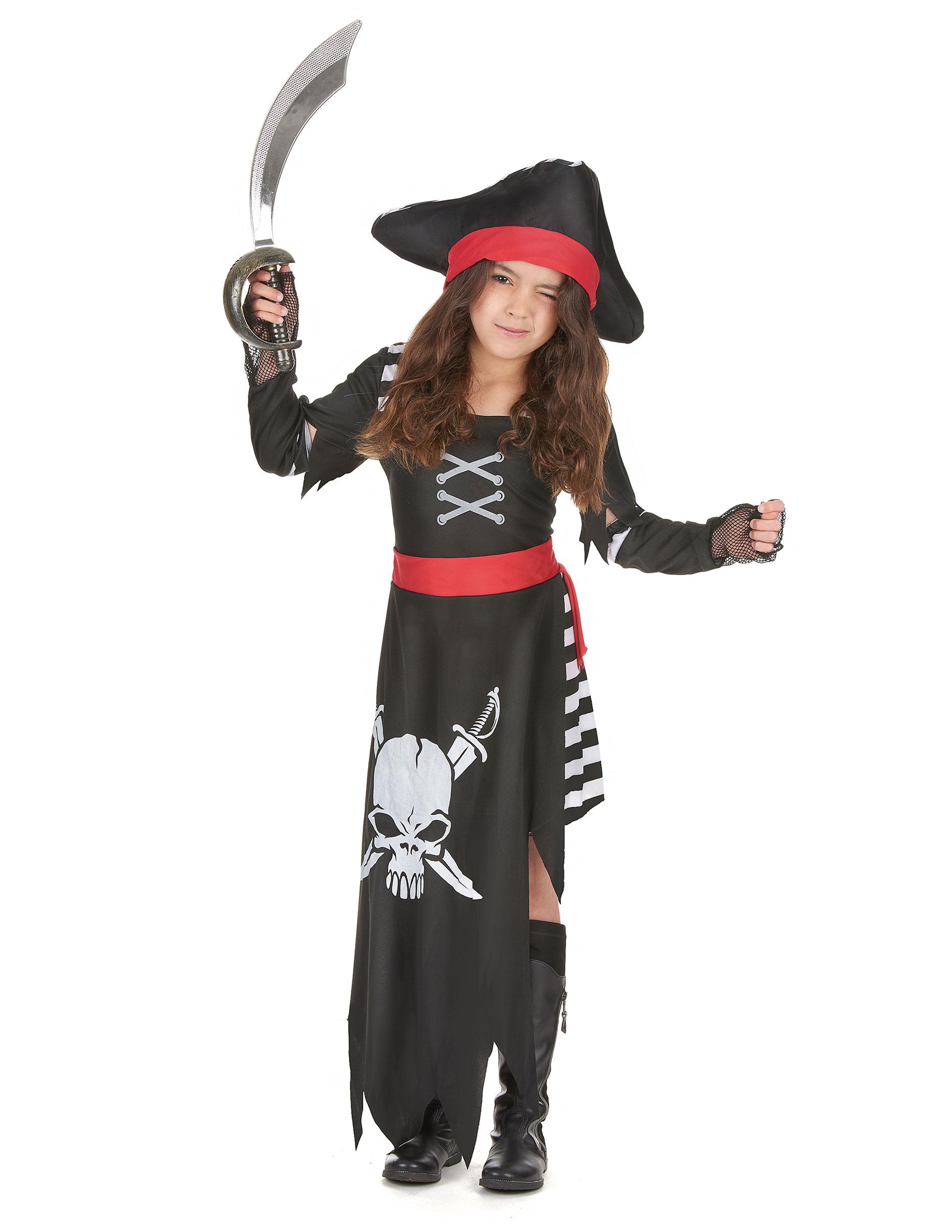 Piraten Kapitans Kostum Fur Madchen Kostume Fur Kinder Und Gunstige