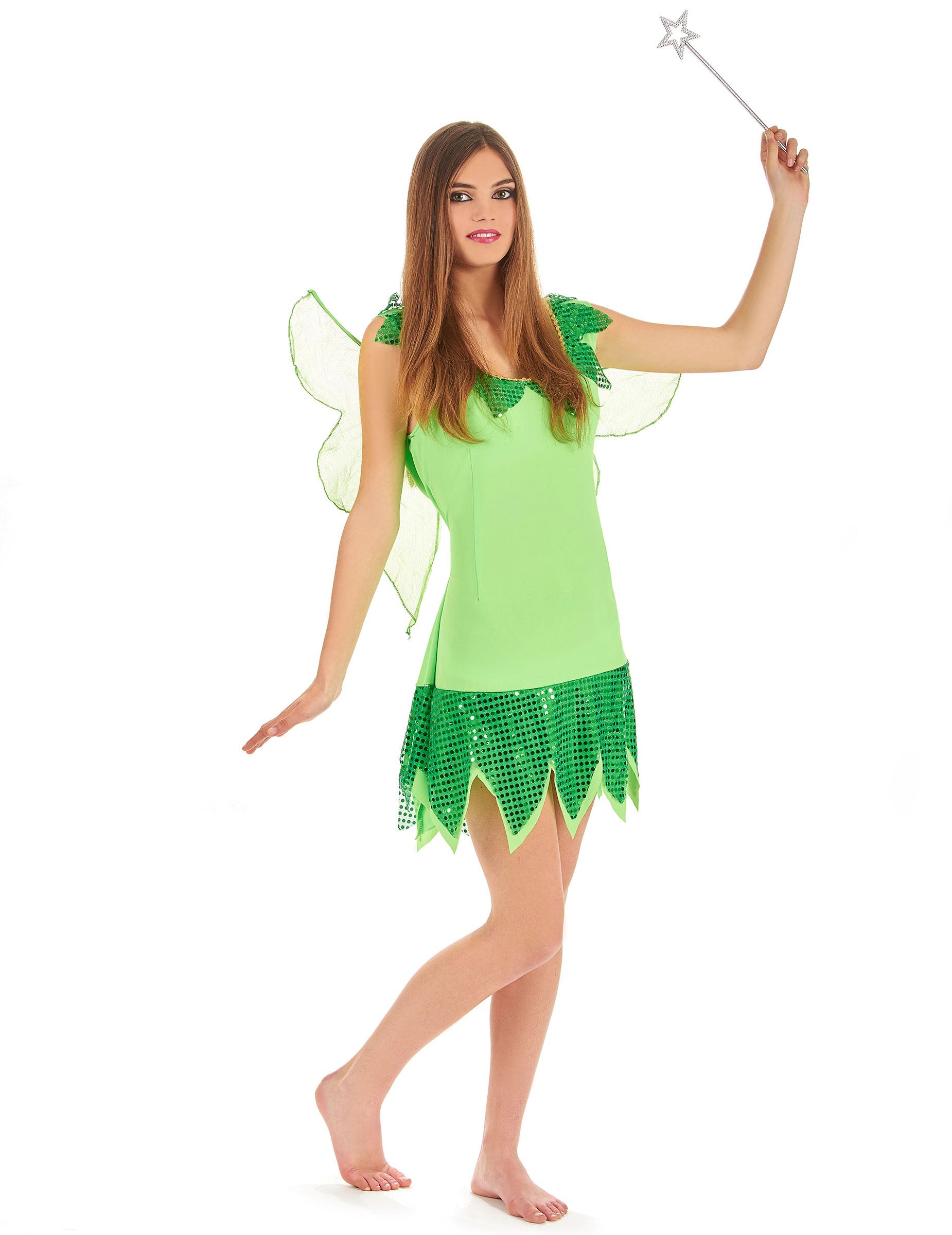 Feen Kostüm Grün Für Damen Kostüme Für Erwachseneund Günstige