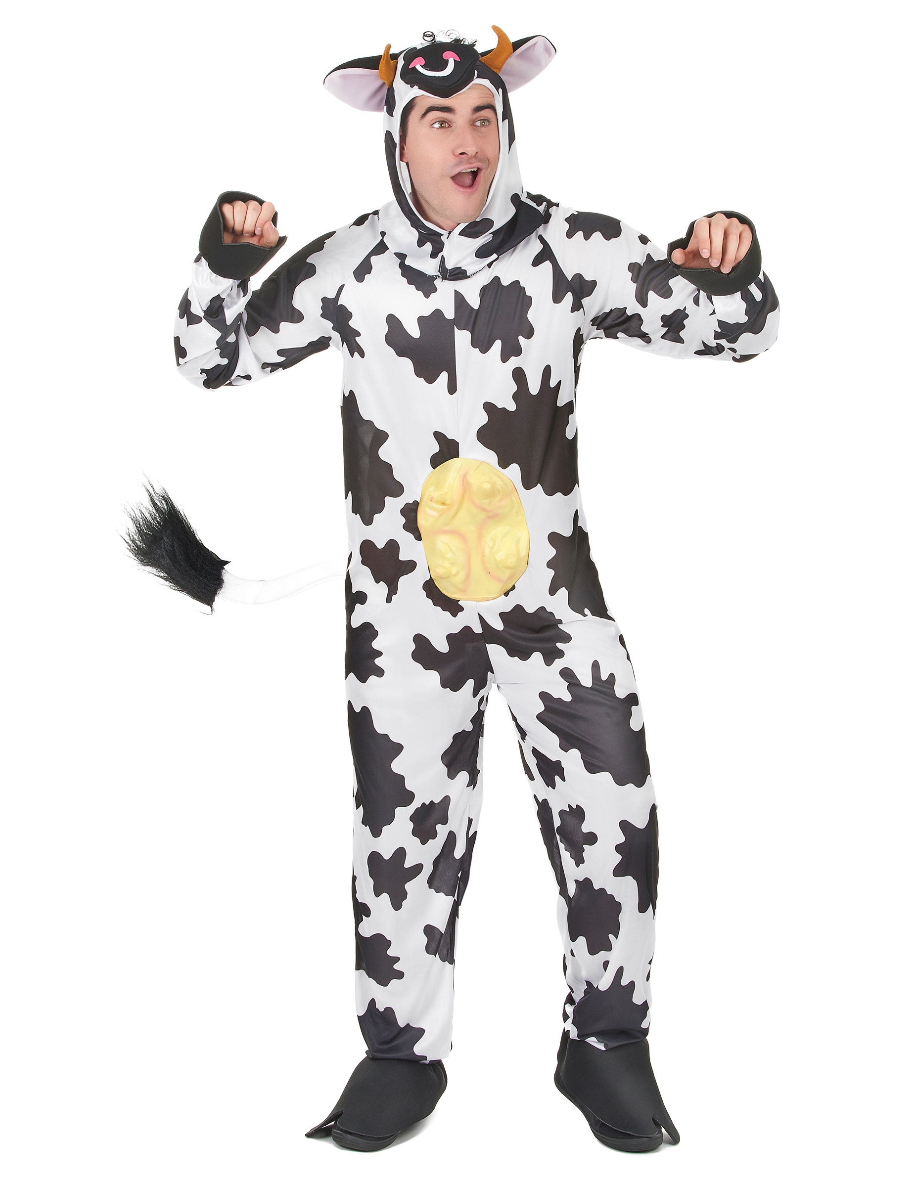 Witziges Kuh-Kostüm für Erwachsene - L 153430