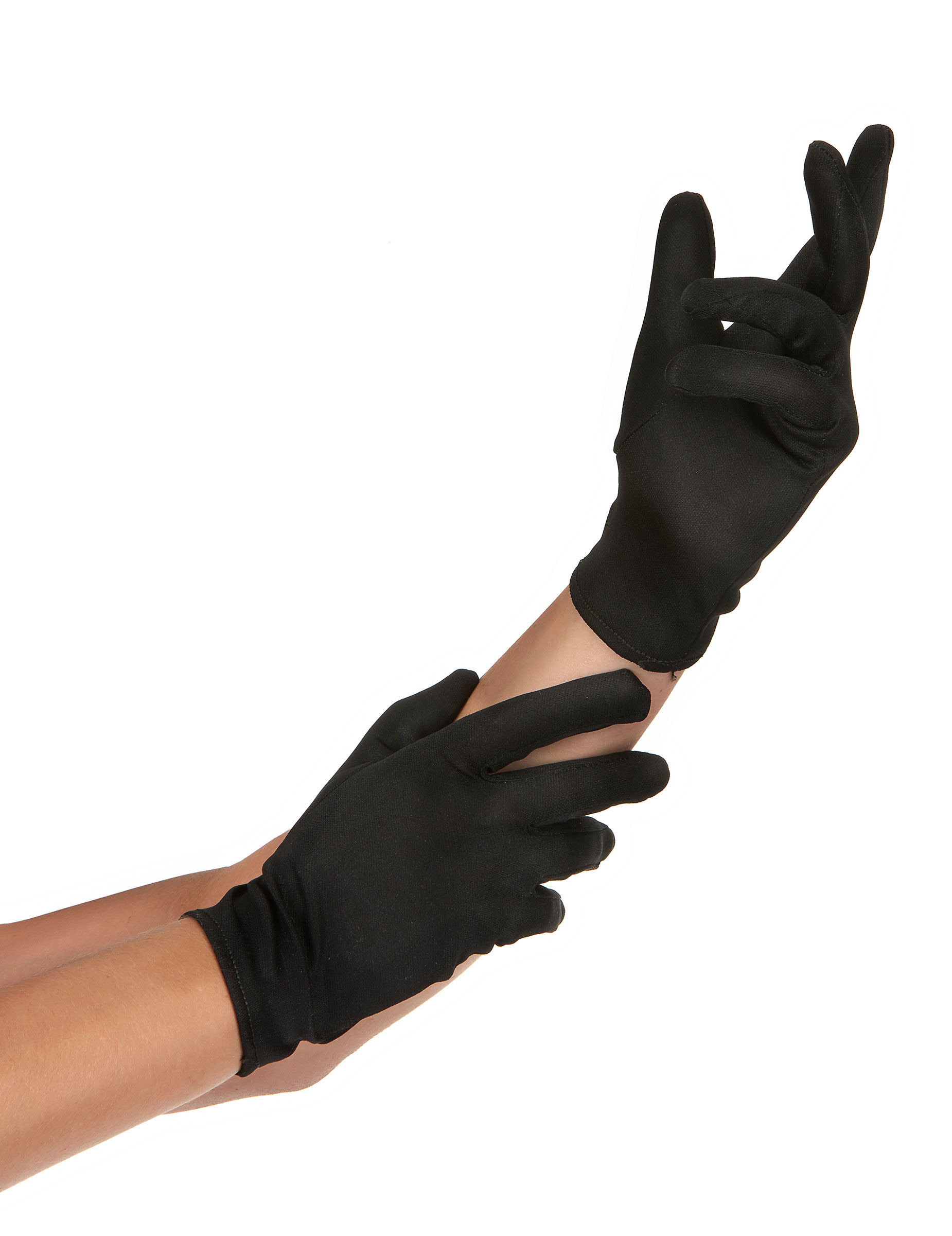 handschuhe schwarz f r erwachsene accessoires und g nstige faschingskost me vegaoo. Black Bedroom Furniture Sets. Home Design Ideas