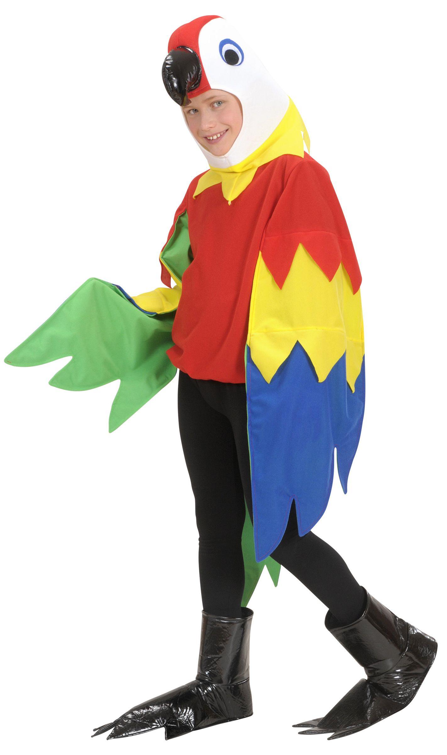 Papagei Kostum Fur Jungen Kostume Fur Kinder Und Gunstige