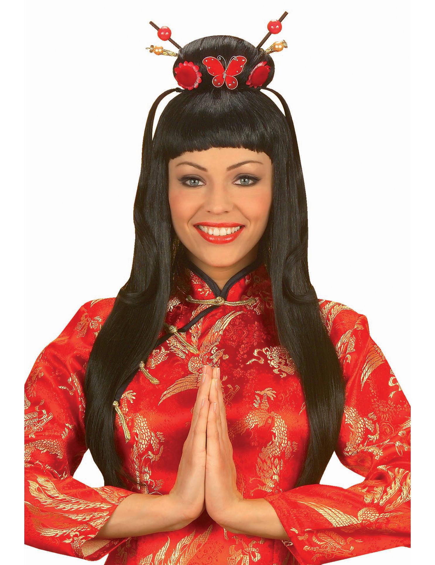 China Girl Perücke für Damen 39458