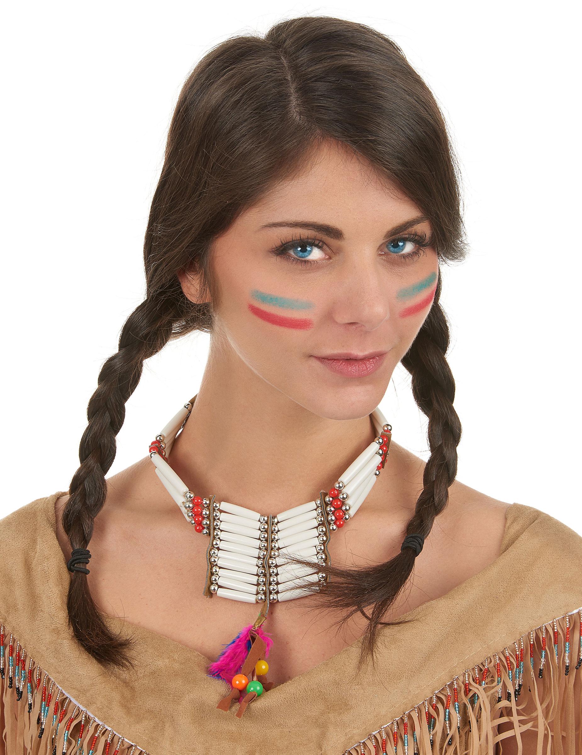 indianer halskette f r damen accessoires und g nstige faschingskost me vegaoo. Black Bedroom Furniture Sets. Home Design Ideas