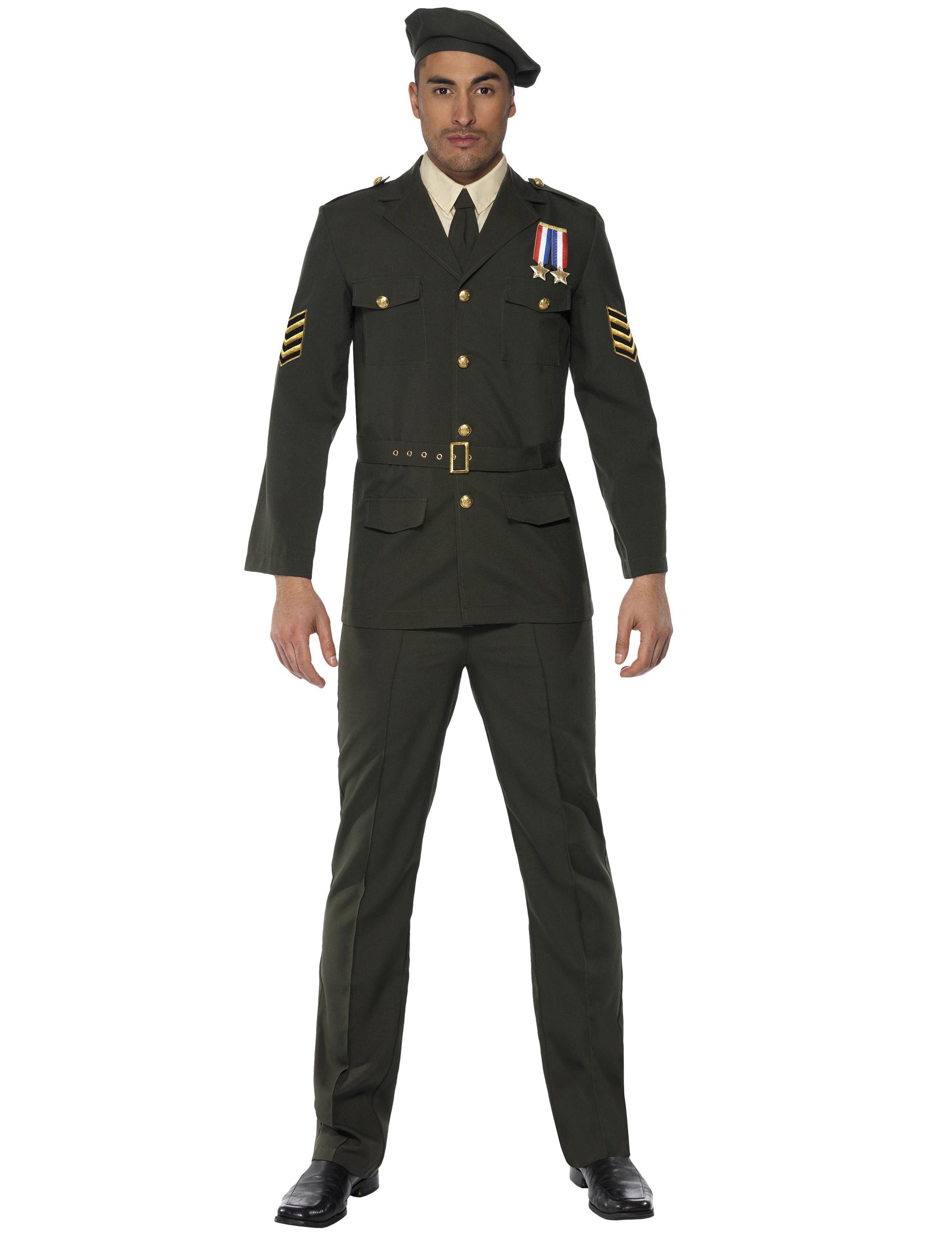 Militär Offiziers-Kostüm für Herren - M 40187