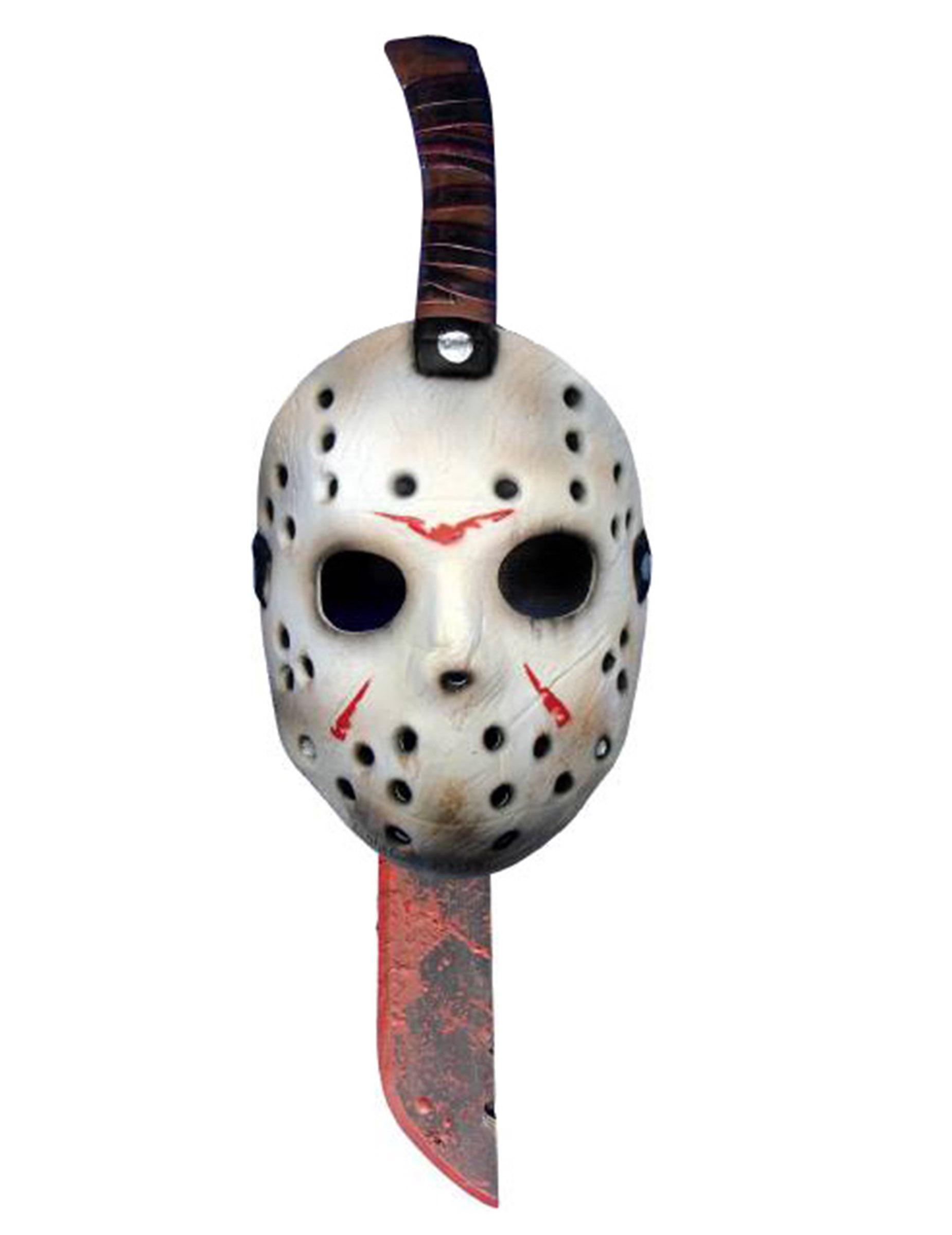 Maske und Machete von Jason aus Freitag der 13. 40450