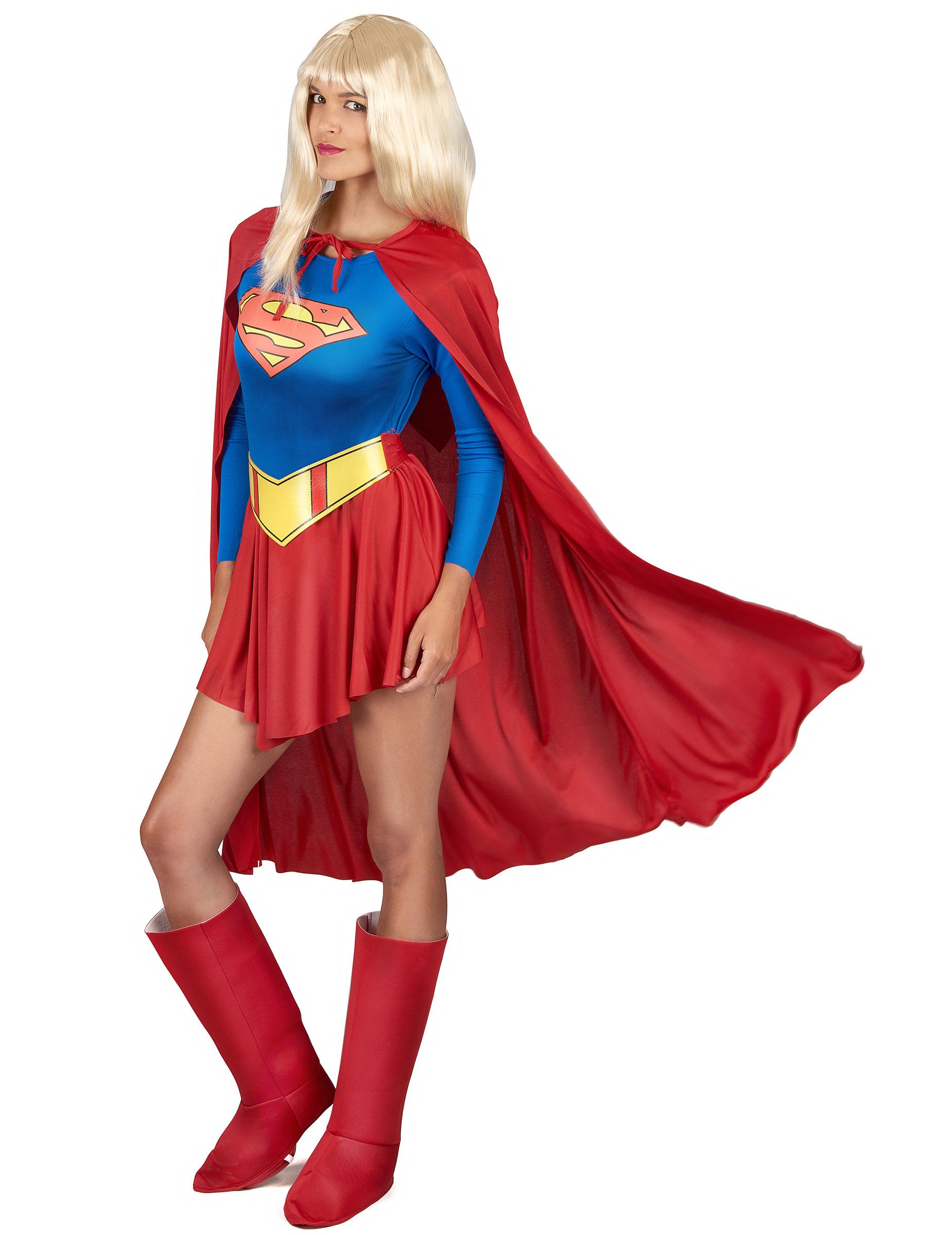 supergirl kost m f r damen kost me f r erwachsene und g nstige faschingskost me vegaoo. Black Bedroom Furniture Sets. Home Design Ideas