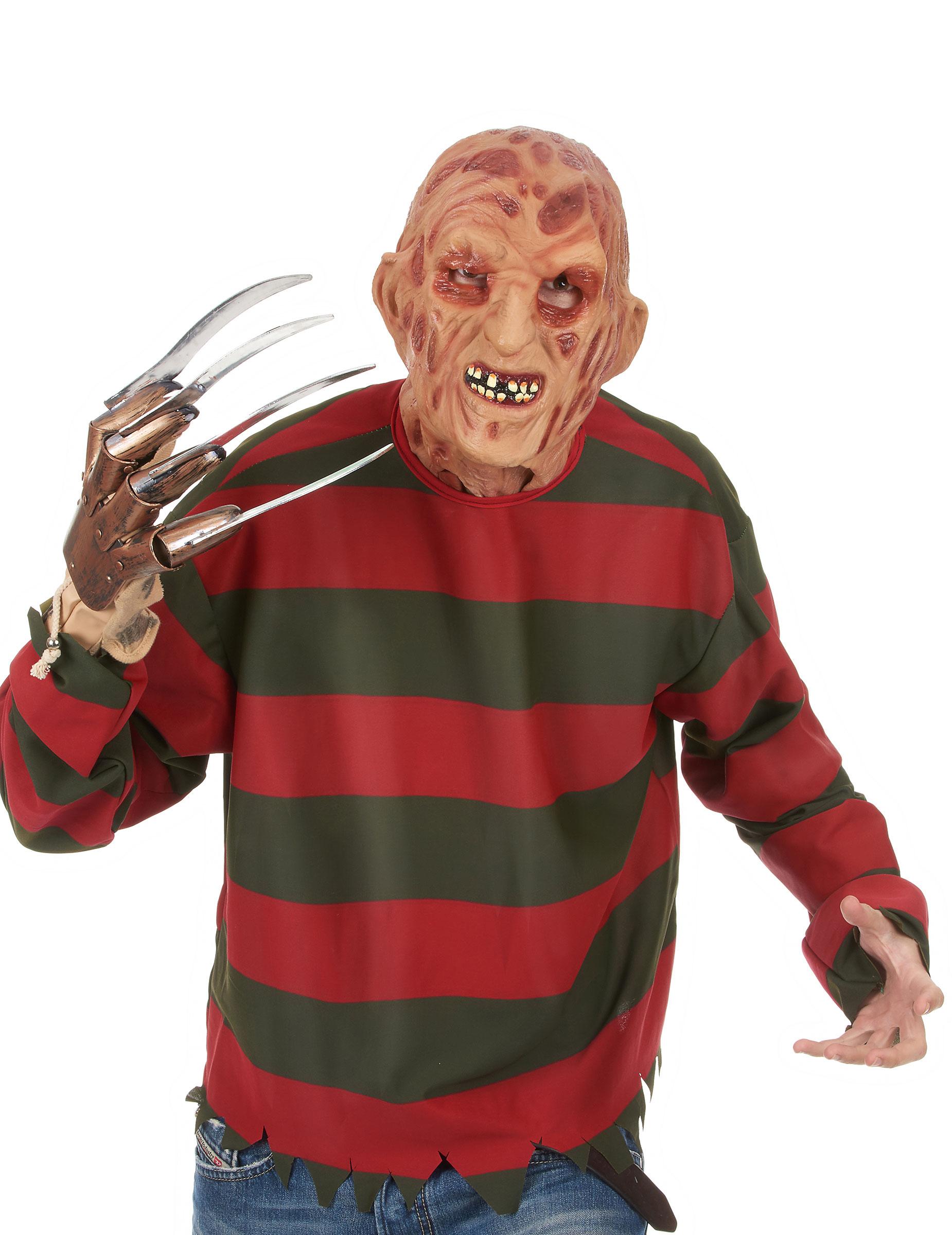 Freddy Krueger-Maske 40621
