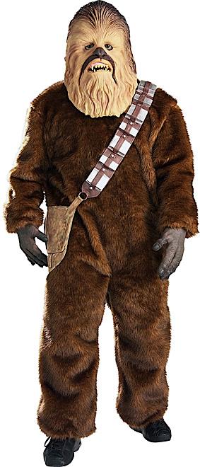 chewbacca kost m aus star wars f r herren kost me f r. Black Bedroom Furniture Sets. Home Design Ideas