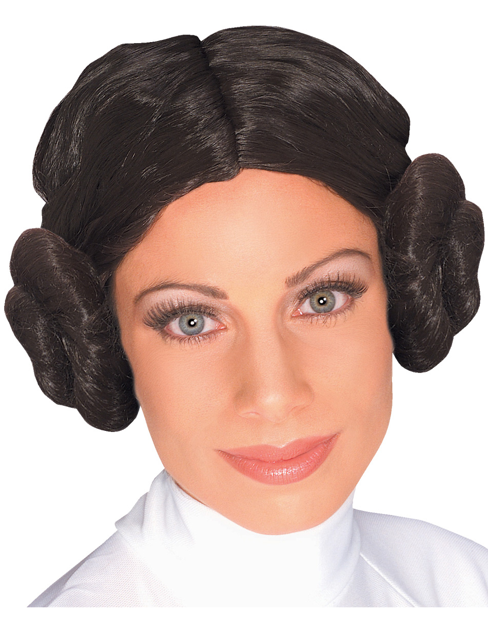 Prinzessin Leia Damenperücke Star Wars 40645