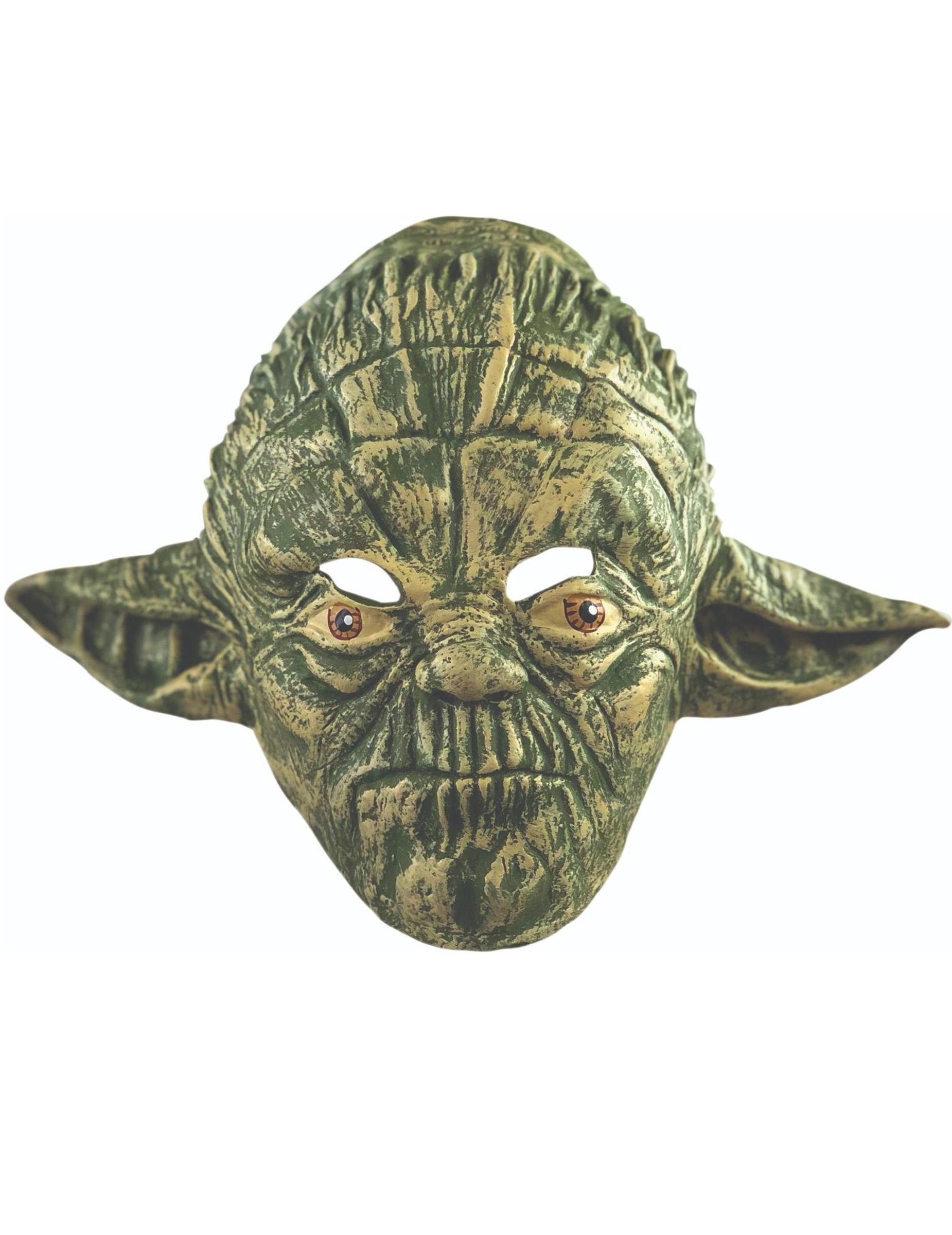 yoda maske star wars f r erwachsene masken und g nstige faschingskost me vegaoo. Black Bedroom Furniture Sets. Home Design Ideas