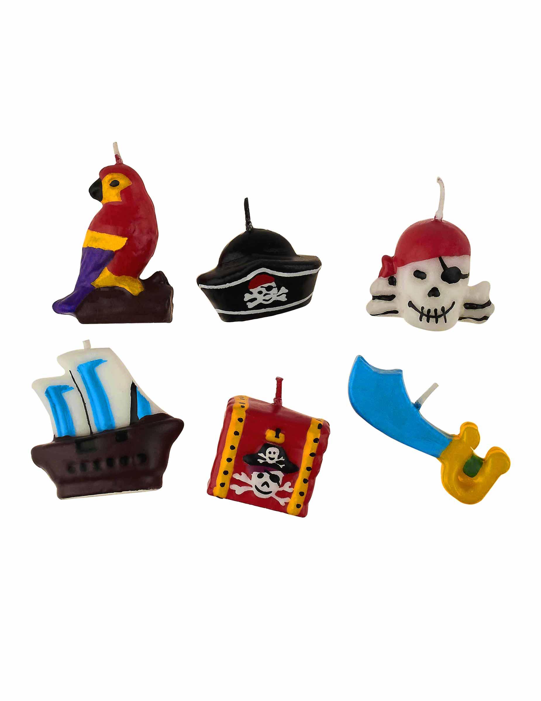 kerzen piraten partydeko und g nstige faschingskost me vegaoo. Black Bedroom Furniture Sets. Home Design Ideas