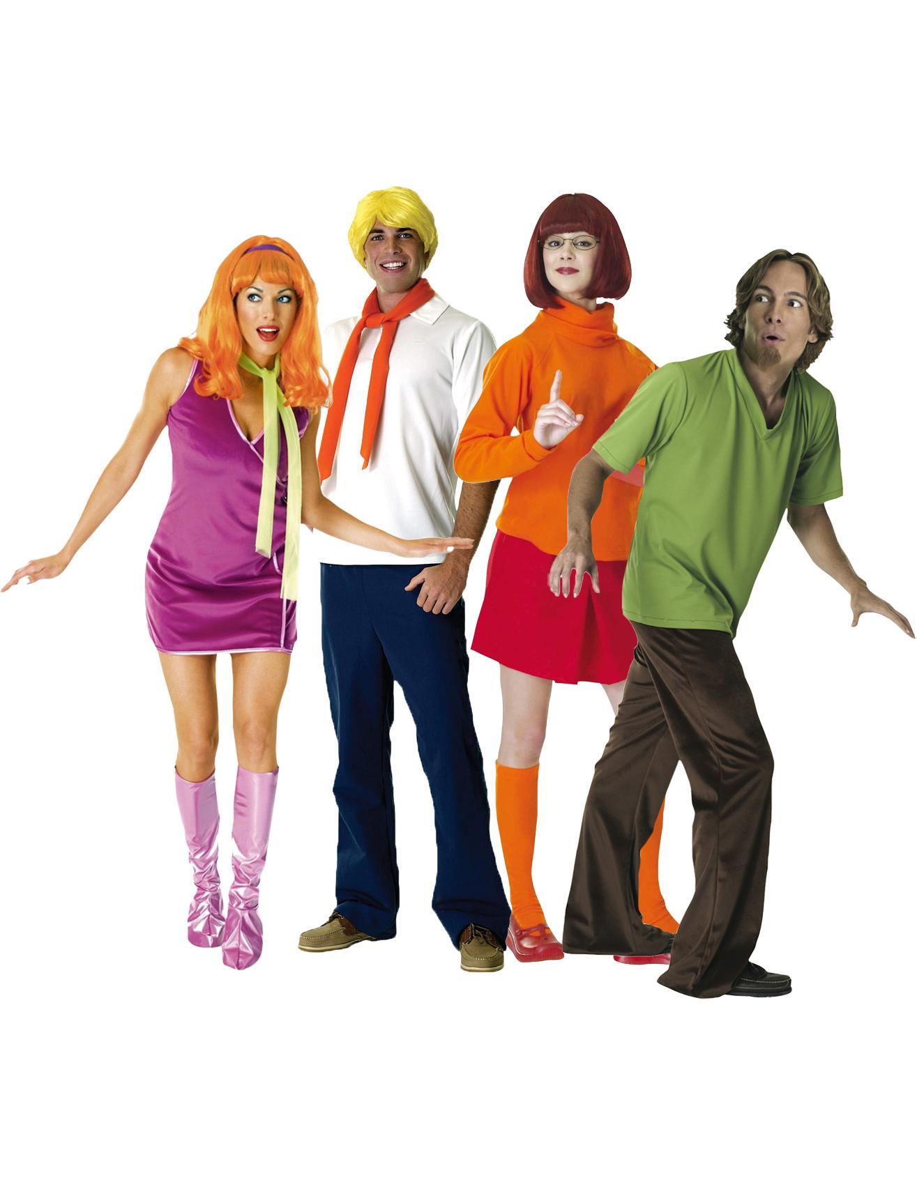 Scooby doo kost m f r erwachsene paarkost me und - Personnage scoubidou ...