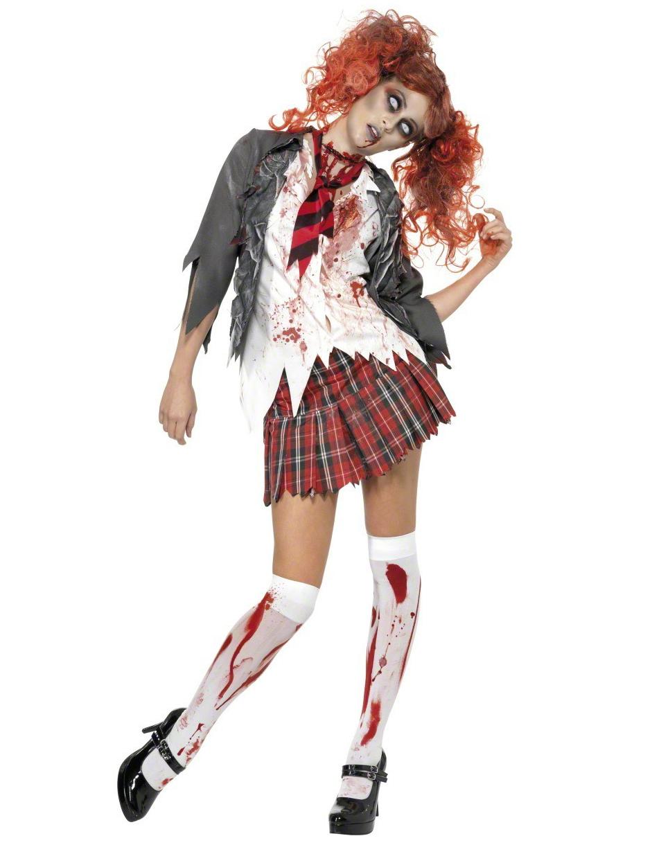 Schülerin-Zombie-Kostüm für Damen - XS 63863