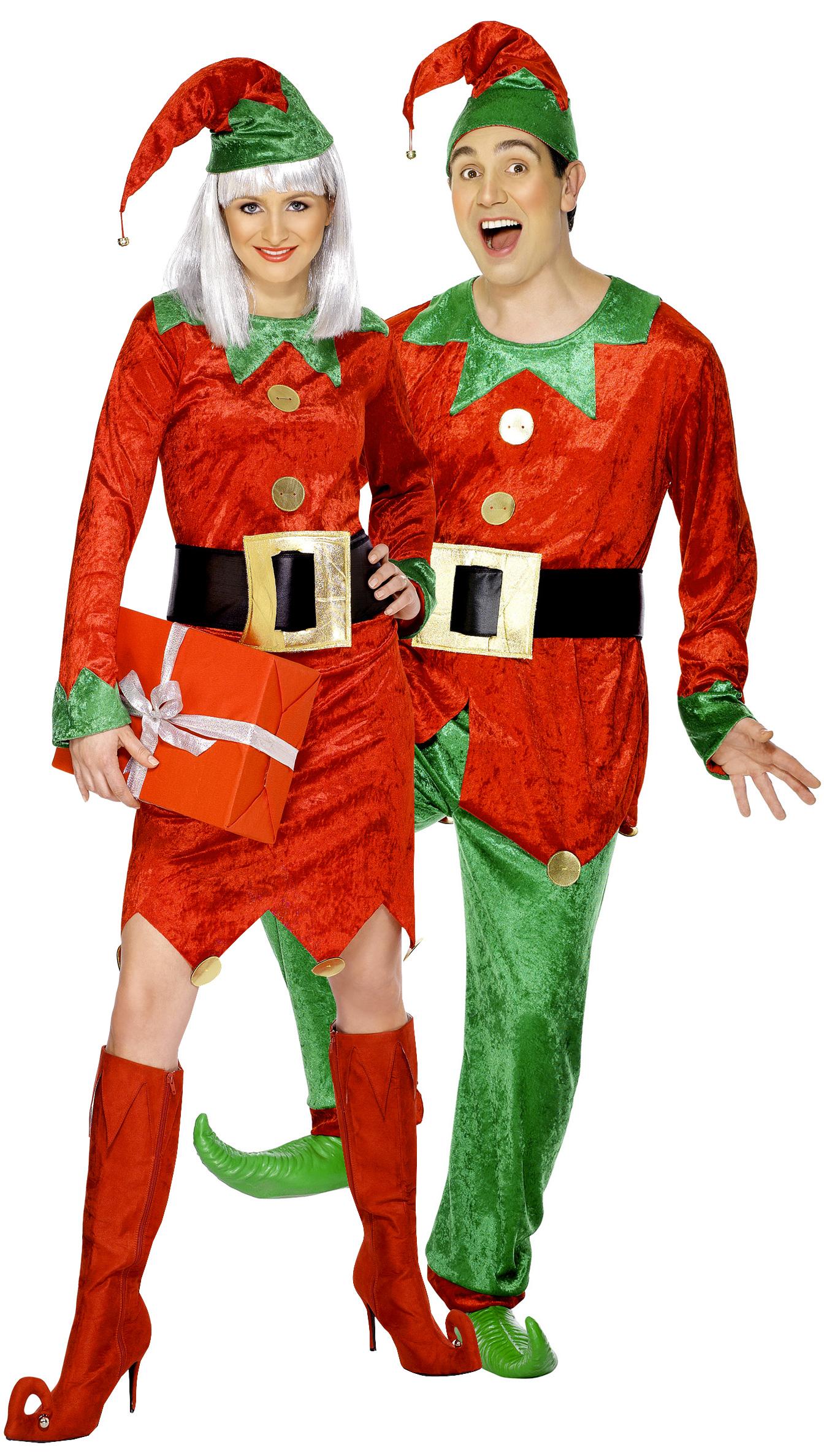 weihnachtswichtel paar kost m f r erwachsene paarkost me und g nstige faschingskost me vegaoo. Black Bedroom Furniture Sets. Home Design Ideas