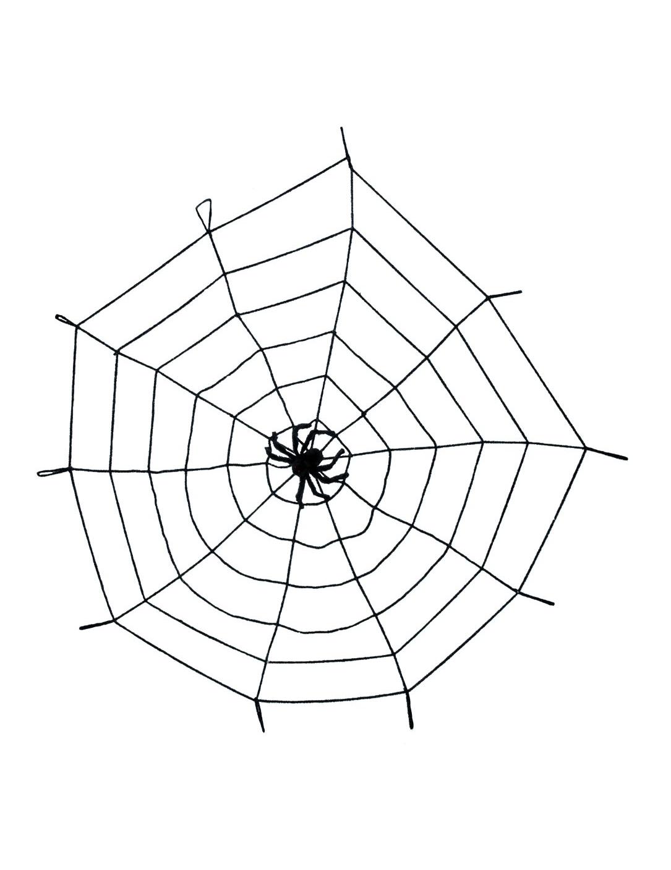 elastisches spinnennetz mit spinne partydekound günstige