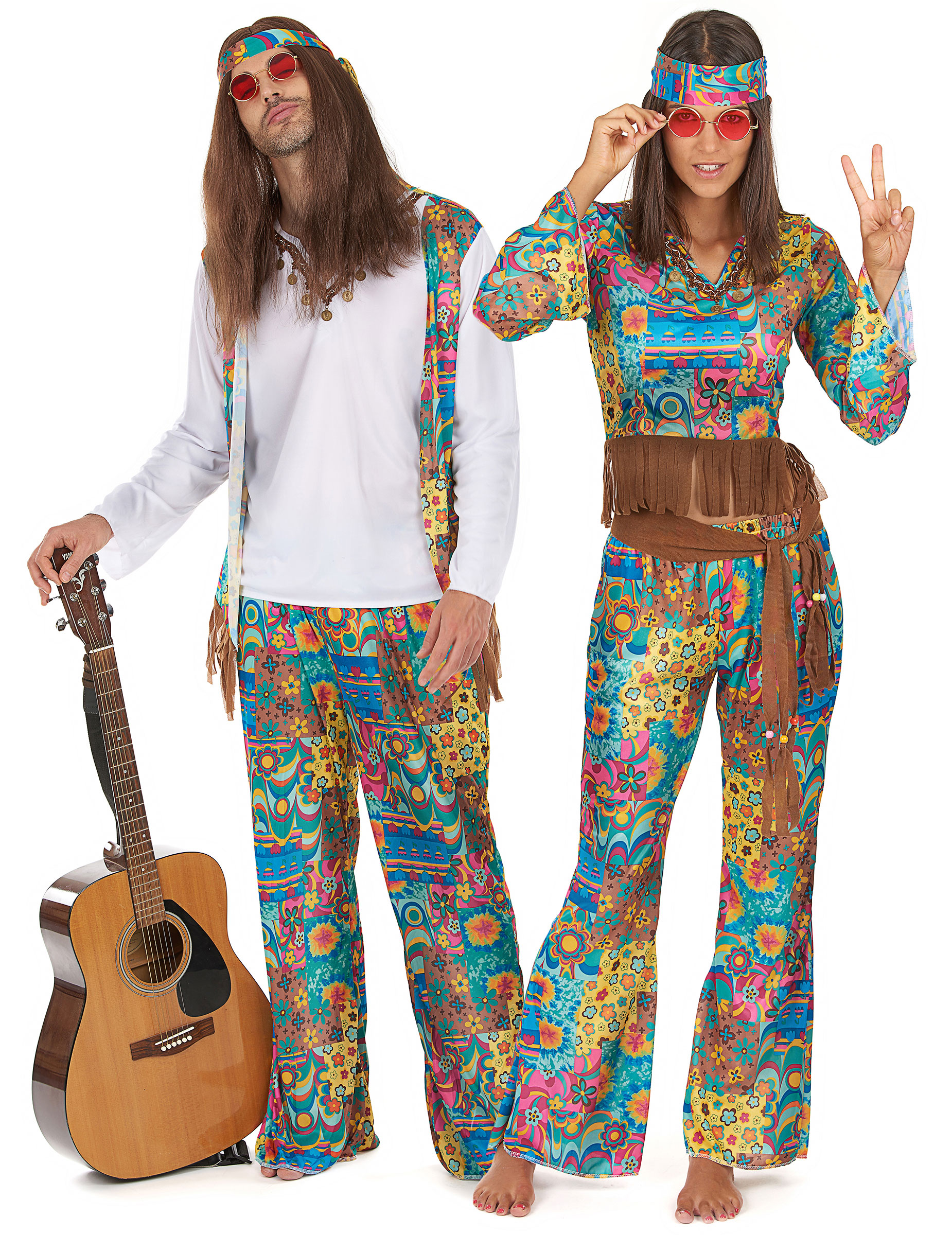 Flower power hippie fashion 37
