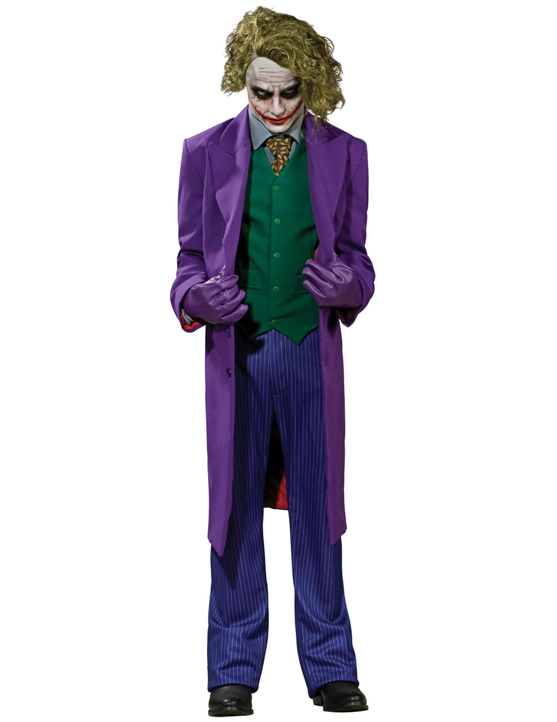 Joker kost mset f r erwachsene lizenz lila gr n kost me for Lila und grun mischen