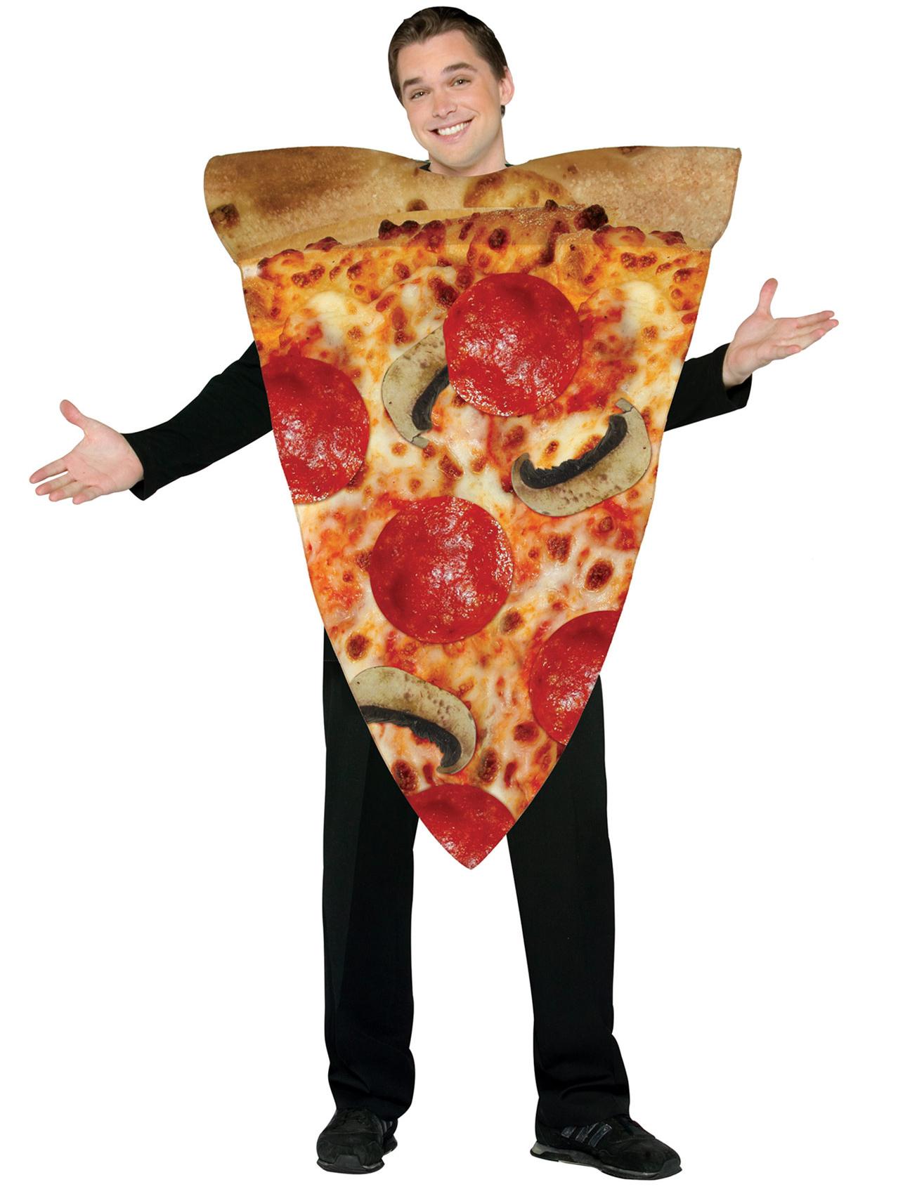 st ck pizza kost m f r erwachsene kost me f r erwachsene und g nstige faschingskost me vegaoo. Black Bedroom Furniture Sets. Home Design Ideas