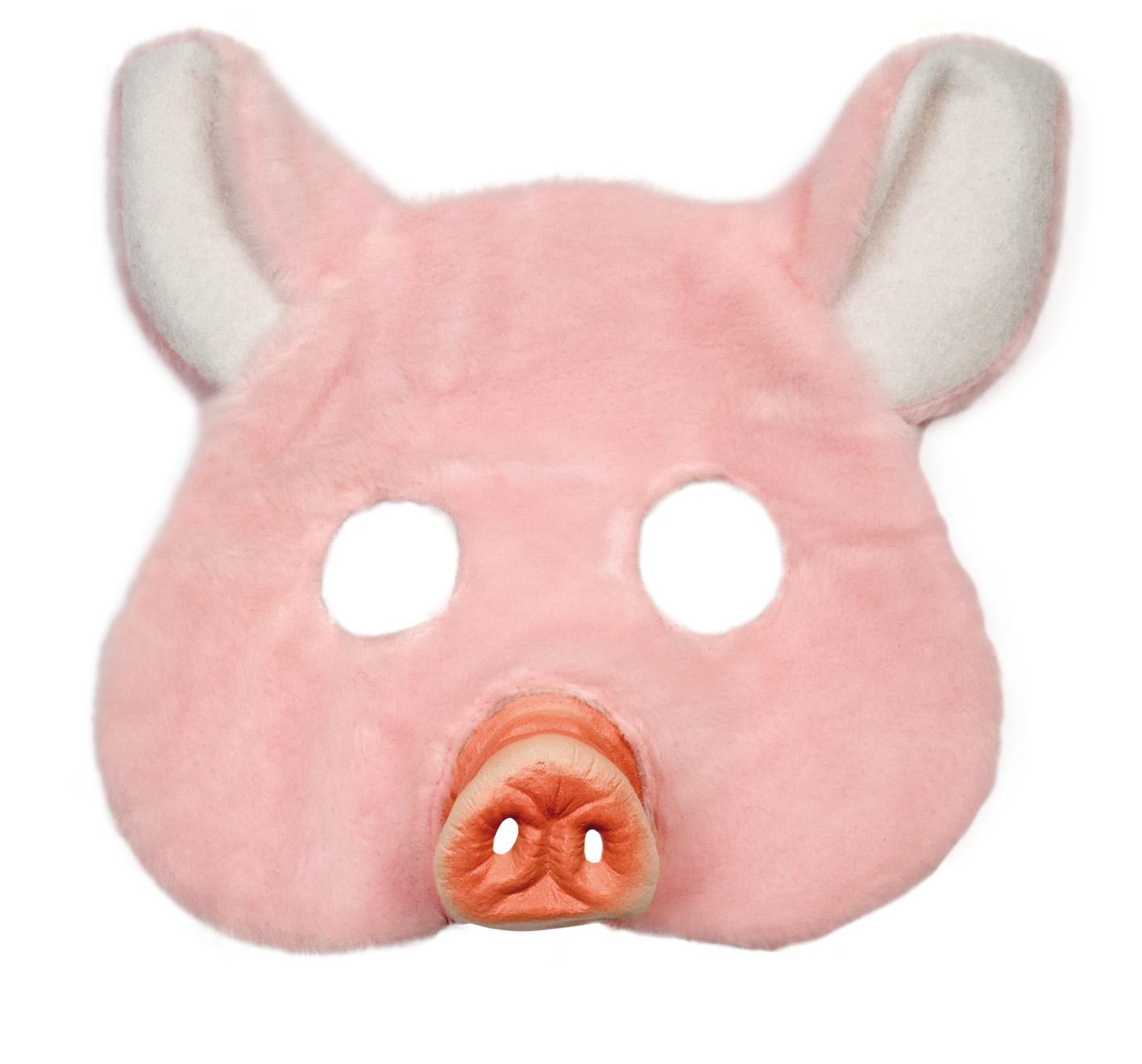 schwein maske f r erwachsene masken und g nstige. Black Bedroom Furniture Sets. Home Design Ideas