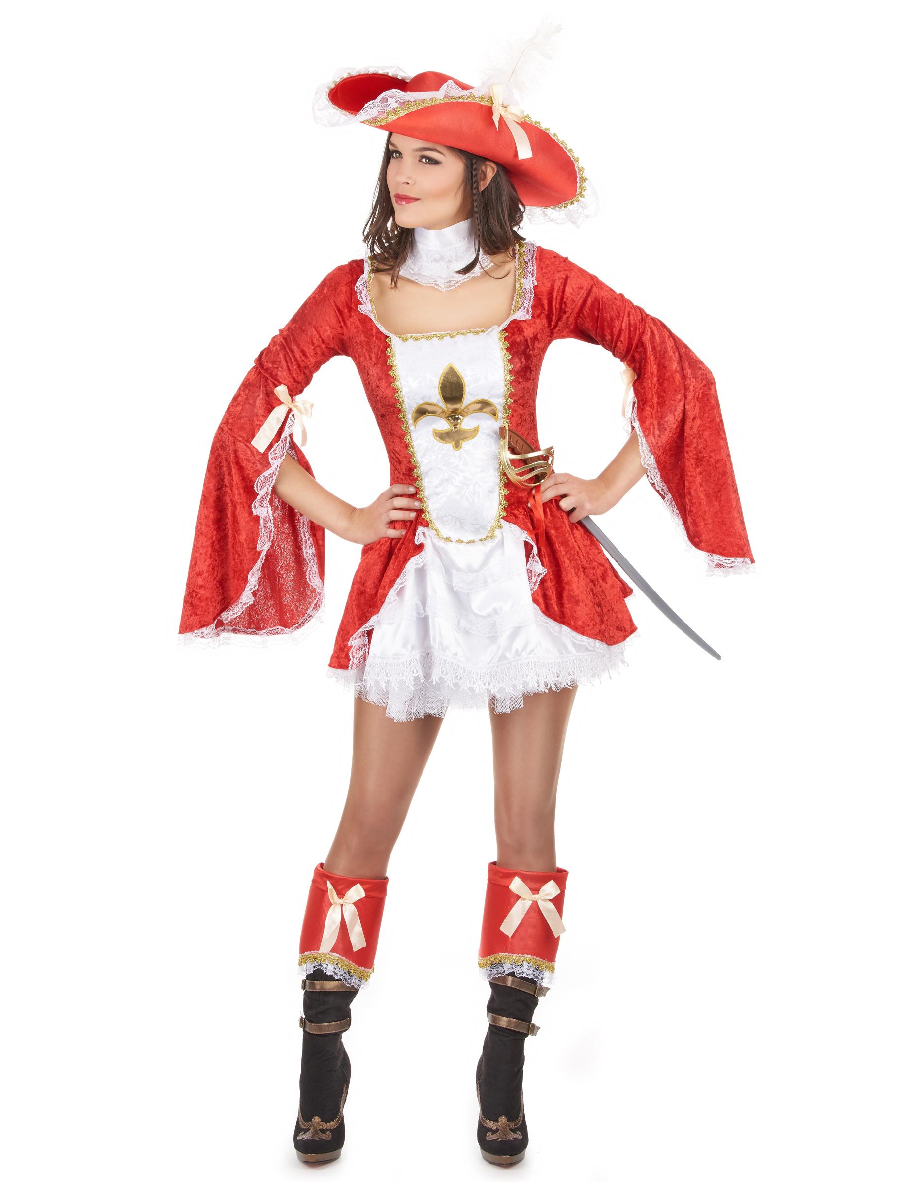 Kostüm Musketier Damen : musketier kost m f r damen kost me f r erwachsene und g nstige faschingskost me vegaoo ~ Frokenaadalensverden.com Haus und Dekorationen
