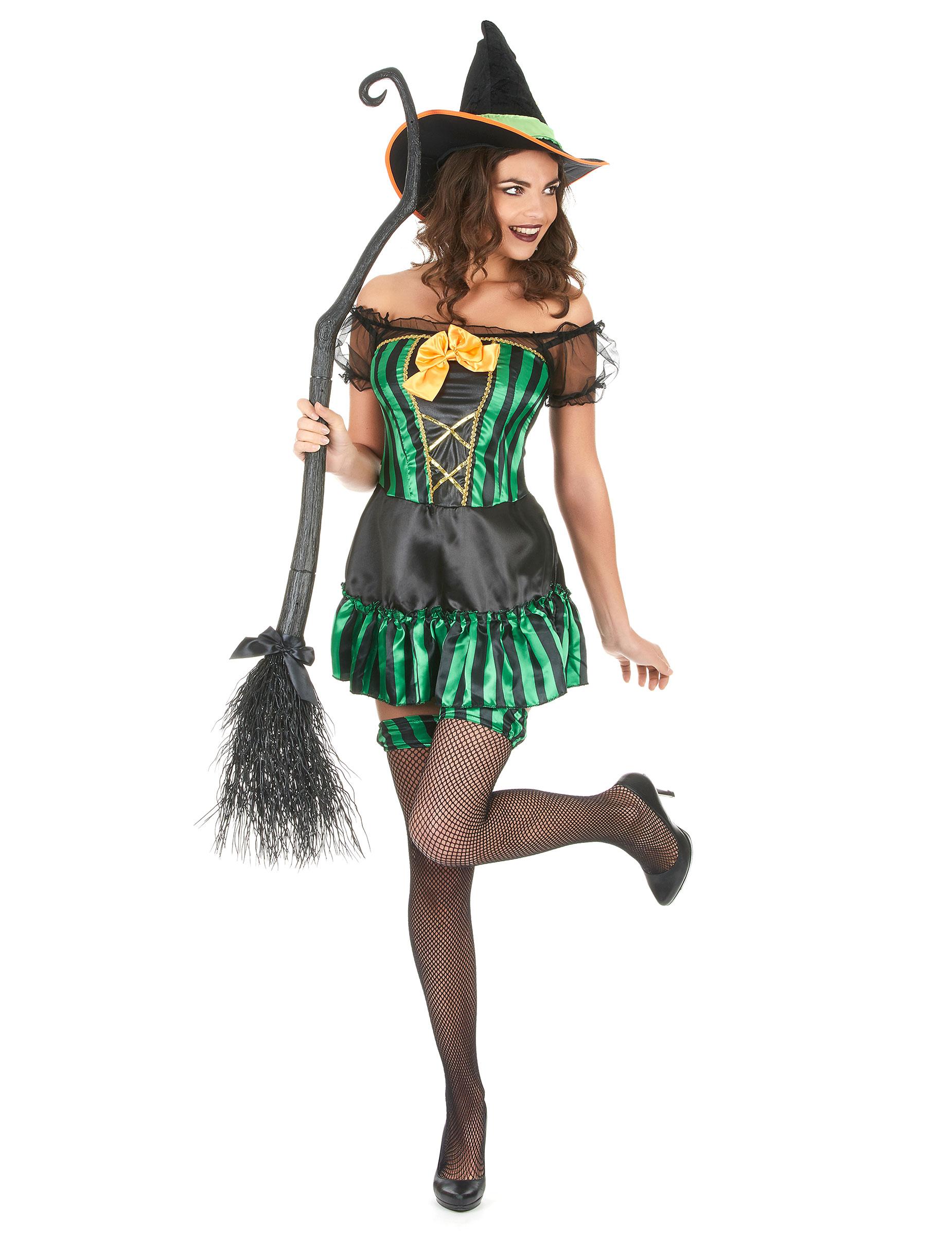 Hexen-Kostüm für Damen Halloween: Kostüme für Erwachsene,und ...