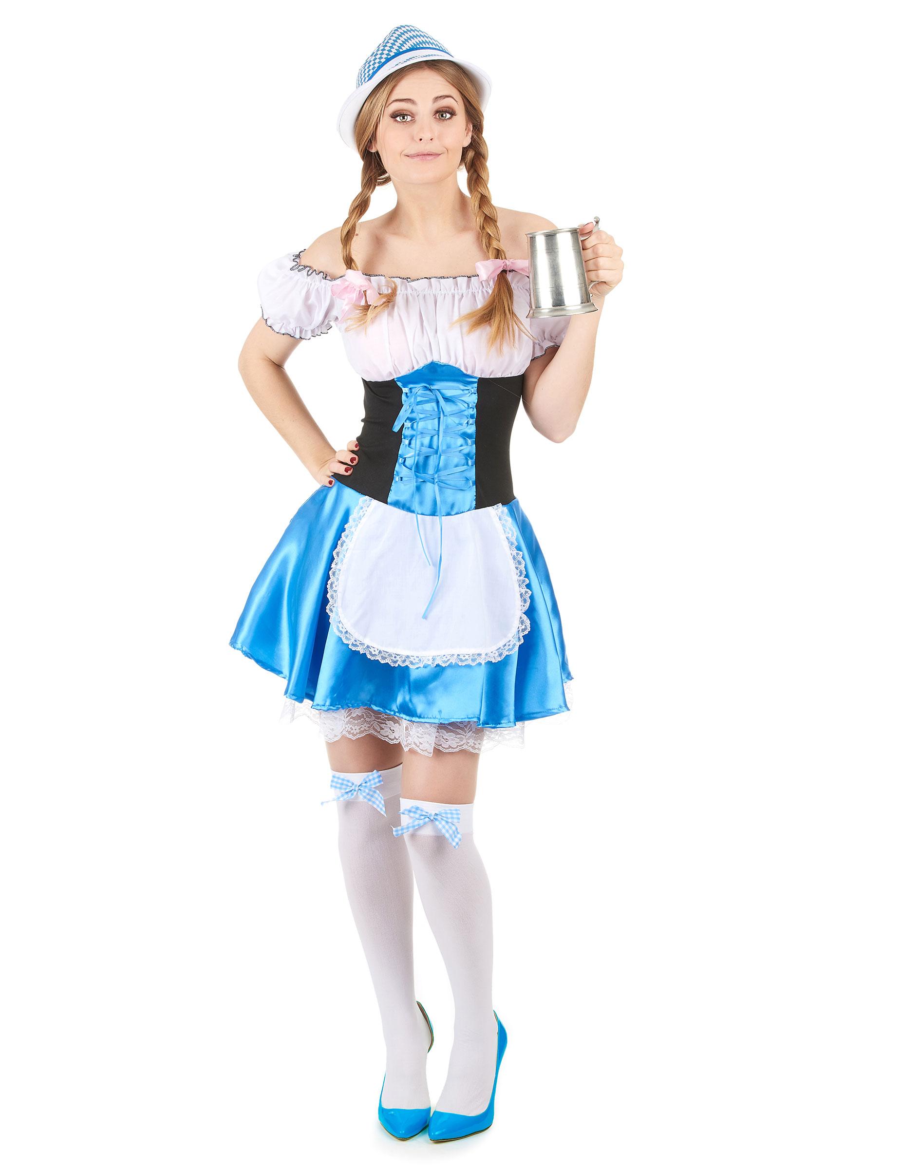 cc55d74839c435 Bayerin Dirndl Kostüm für Damen: Kostüme für Erwachsene,und günstige ...