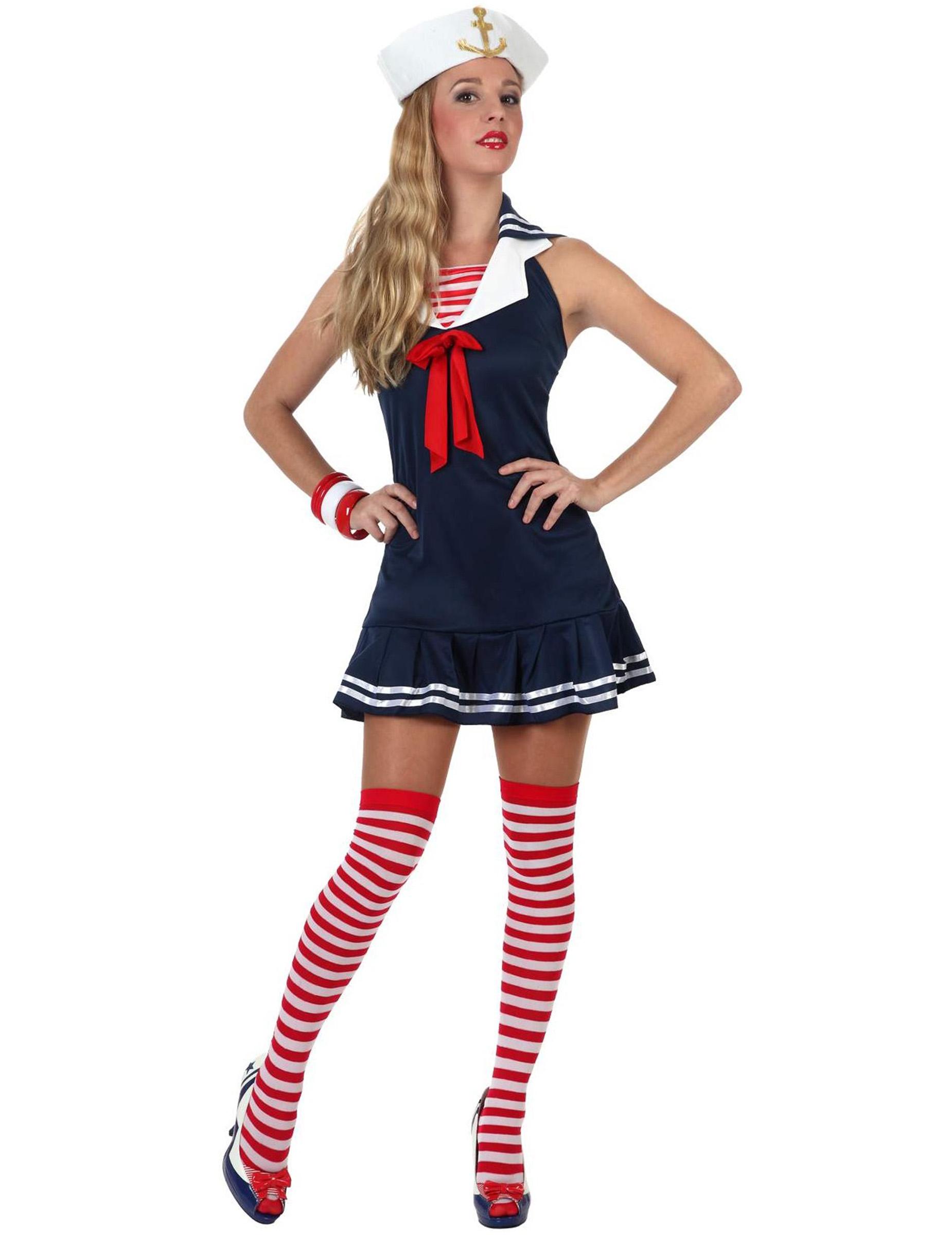 Sexy Seemann - Kostüm für Damen - M / L 46702