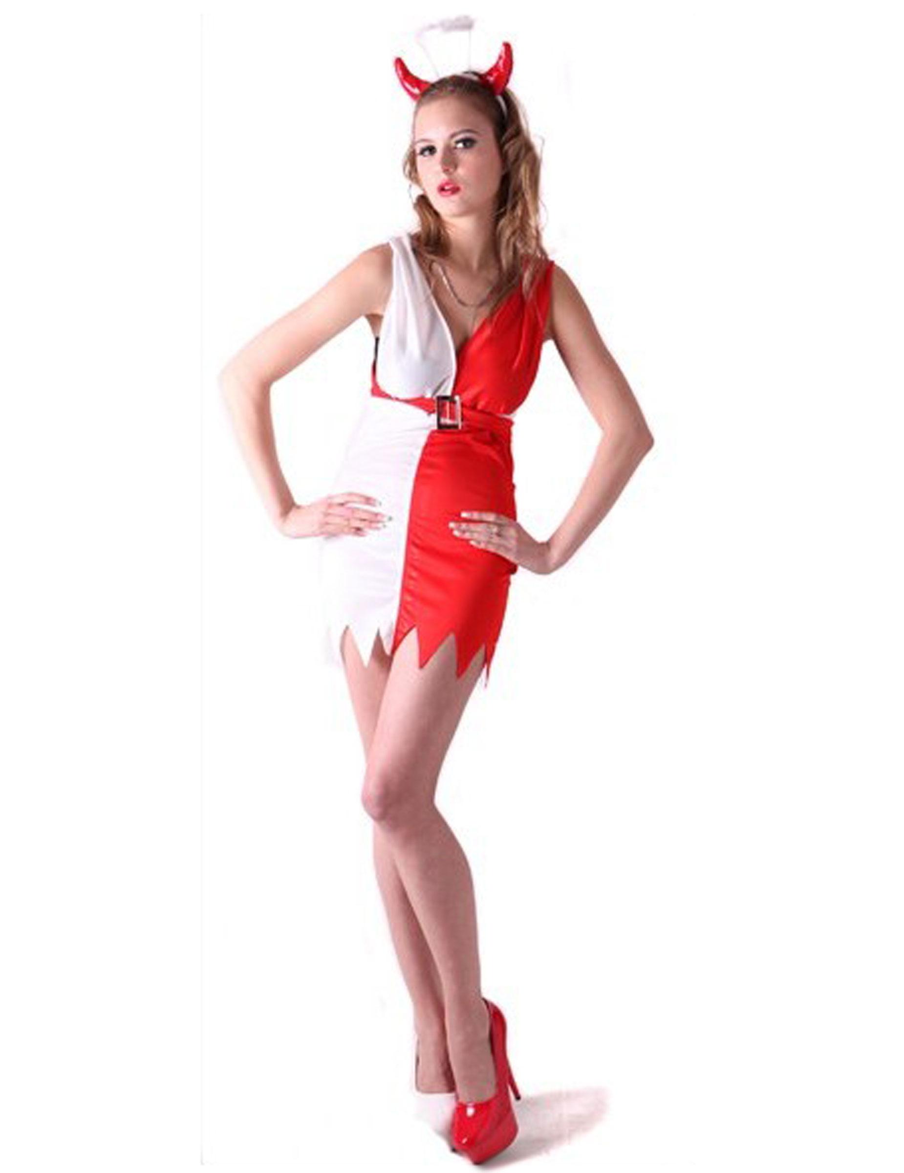 Engel Oder Teufel Kostum Fur Damen Kostume Fur Erwachsene Und