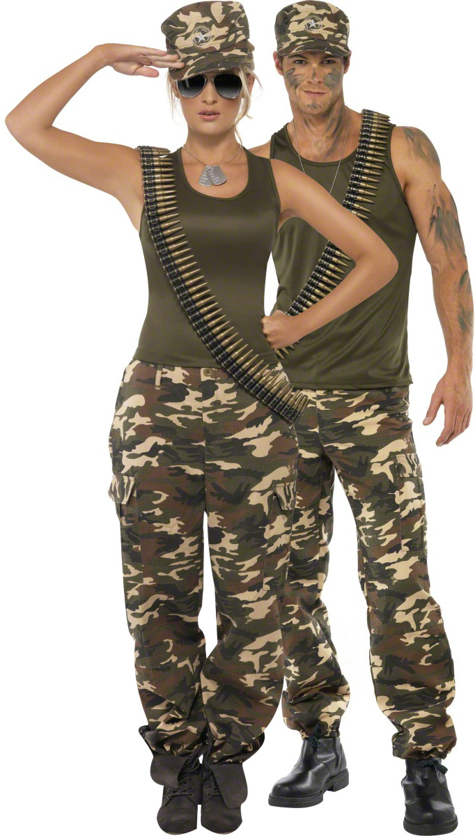soldaten paarkost m f r erwachsene paarkost me und g nstige faschingskost me vegaoo. Black Bedroom Furniture Sets. Home Design Ideas