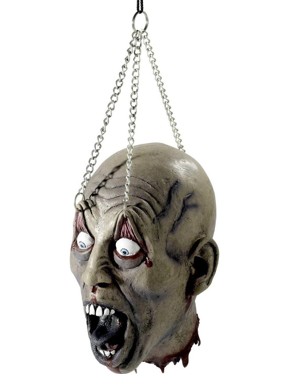 Dekoration aufgehängter Kopf Halloween 48281