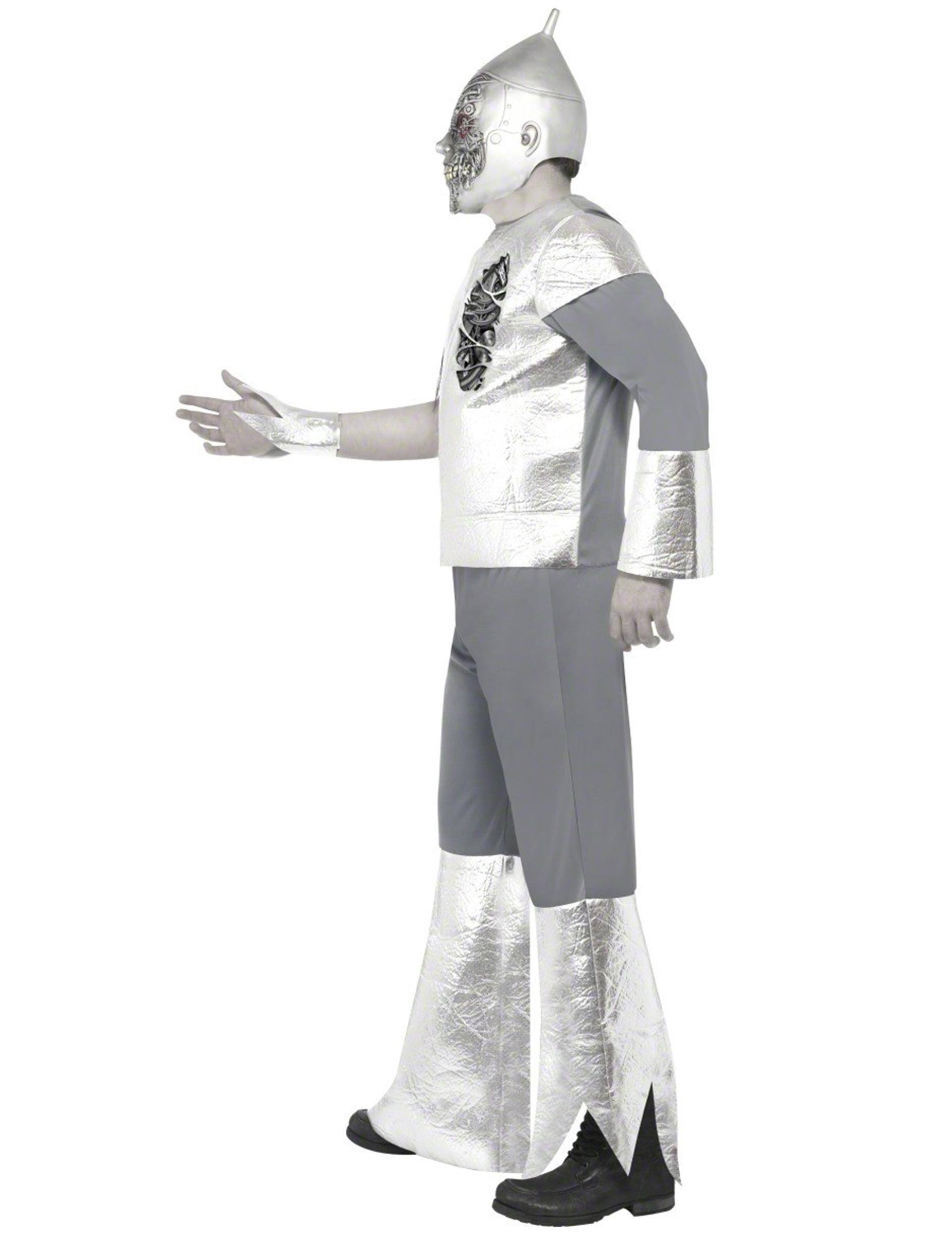 roboter zombi kost m f r erwachsene kost me f r erwachsene und g nstige faschingskost me vegaoo. Black Bedroom Furniture Sets. Home Design Ideas
