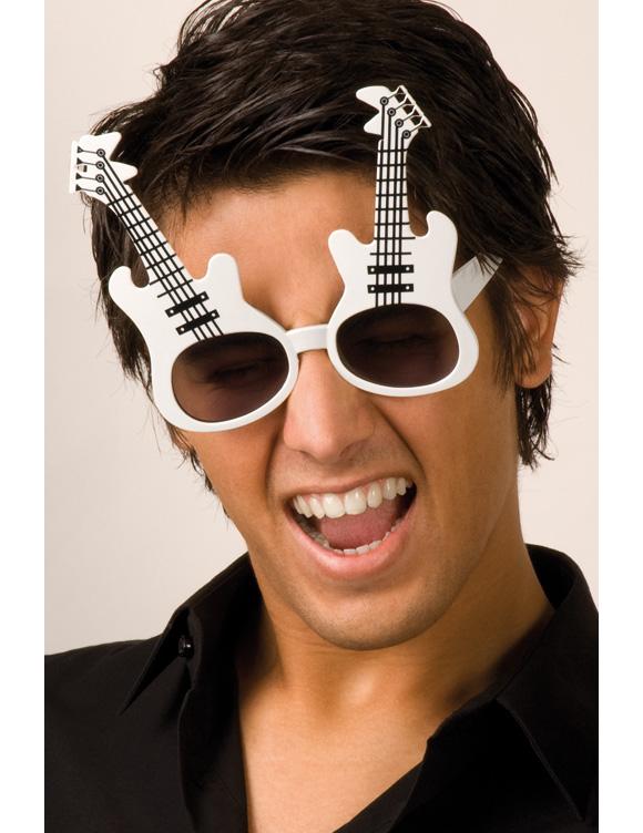 brille gitarre f r erwachsene accessoires und g nstige. Black Bedroom Furniture Sets. Home Design Ideas